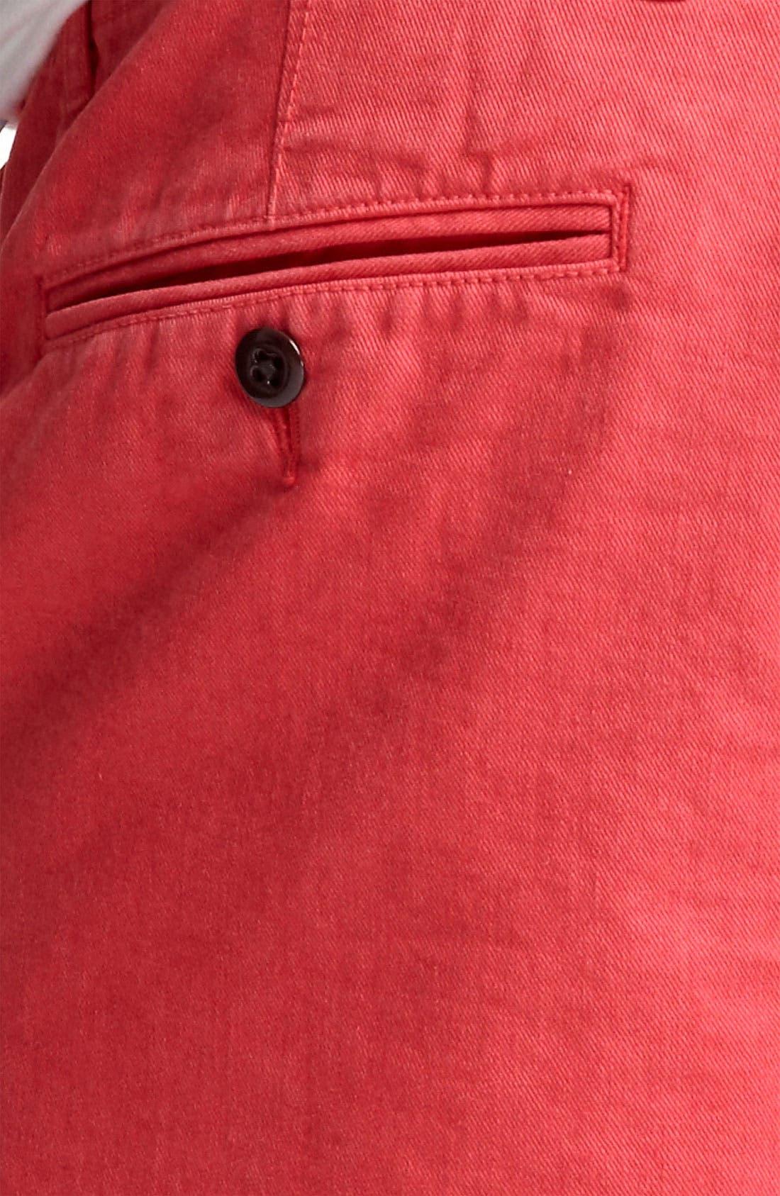 Alternate Image 5  - Todd Snyder 'Officer' Chino Shorts