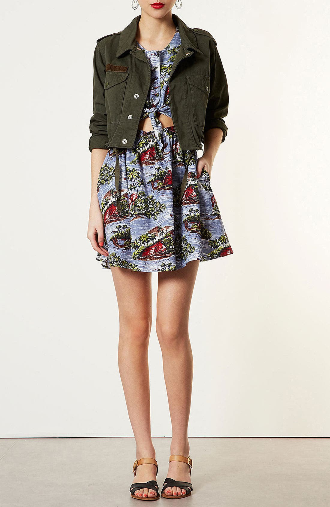 Alternate Image 1 Selected - Topshop 'Hawaiian Boat' Sundress