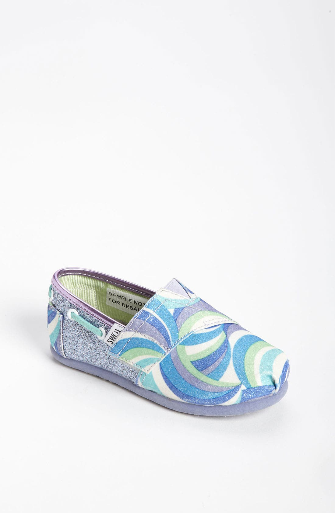 Main Image - TOMS 'Classic Tiny - Swirl' Slip-On (Baby, Walker & Toddler)