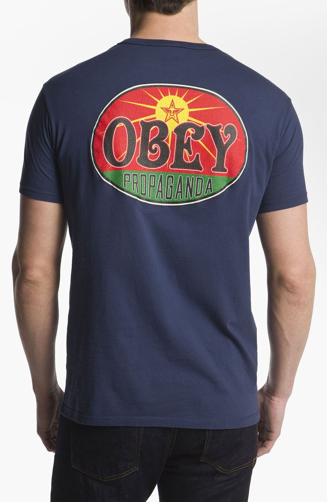 Alternate Image 2  - Obey 'Rising Sun' T-Shirt