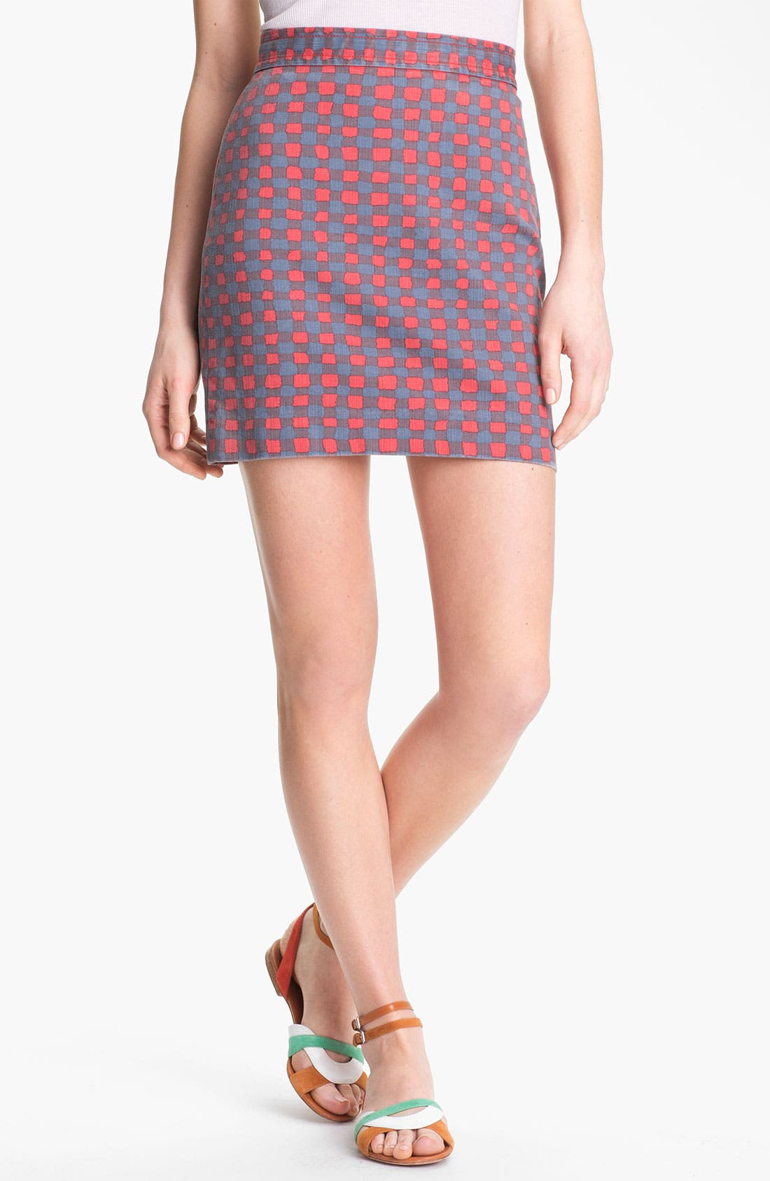 Alternate Image 1 Selected - MARC BY MARC JACOBS 'Molly' Stretch Denim Skirt