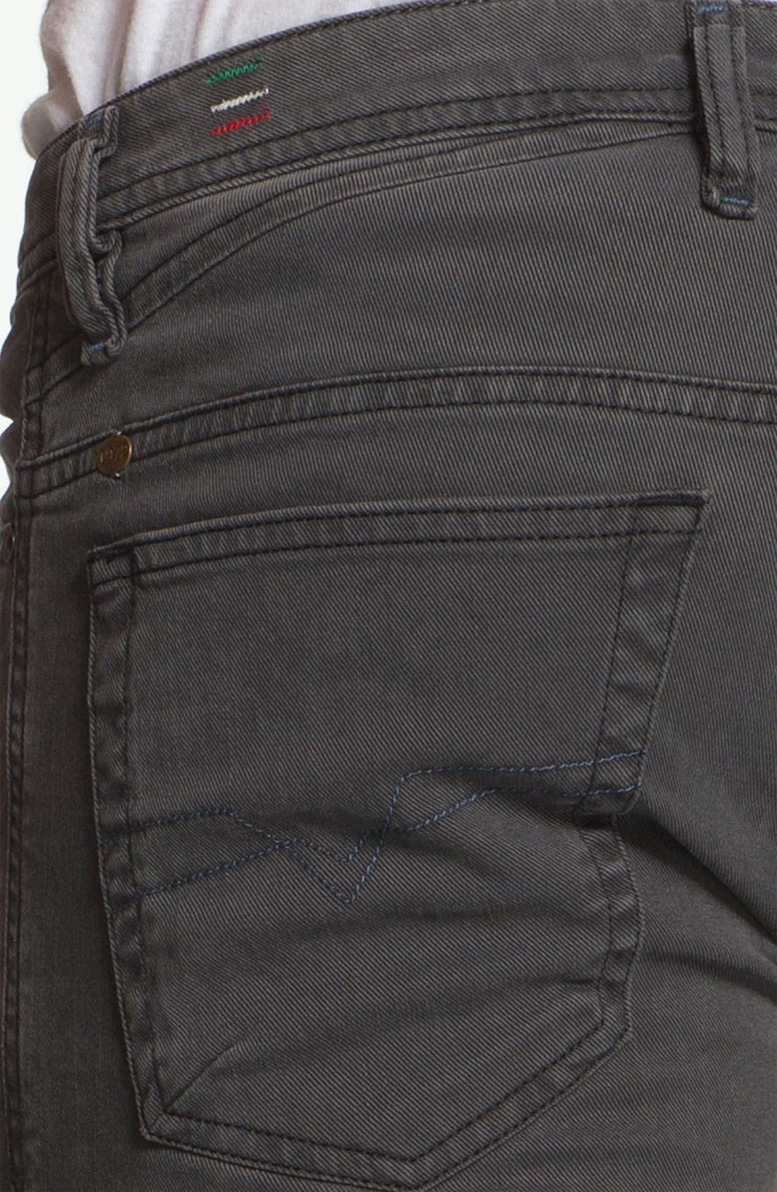 Alternate Image 4  - DIESEL® 'Shioner' Slim Straight Leg Jeans