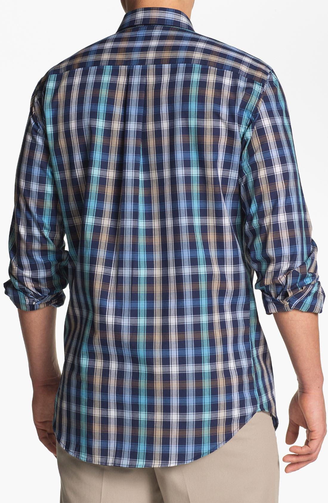 Alternate Image 2  - Peter Millar 'Double Track' Regular Fit Sport Shirt