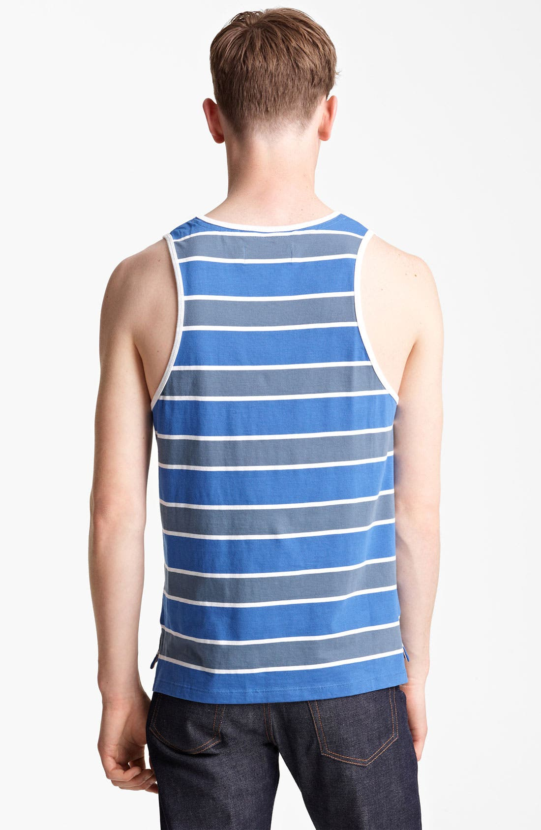 Alternate Image 2  - Shipley & Halmos 'Jones' Stripe Tank Top
