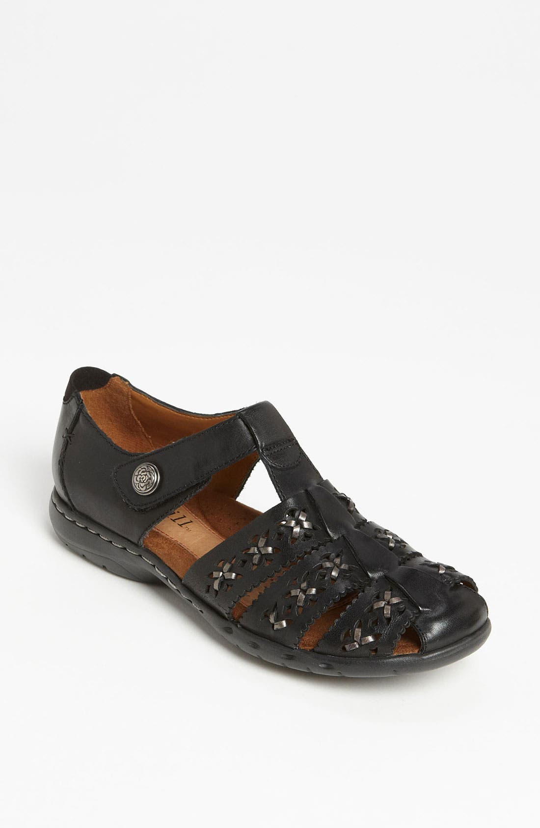 Cobb Hill 'Paige' Flat,                             Main thumbnail 1, color,                             Black