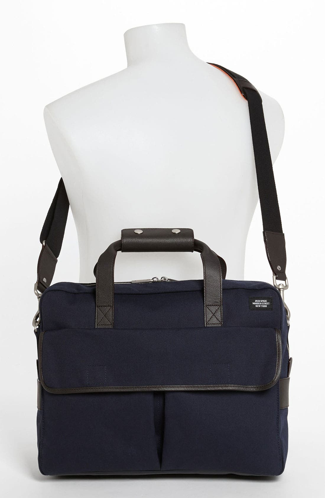 Alternate Image 4  - Jack Spade 'Field' Canvas Briefcase