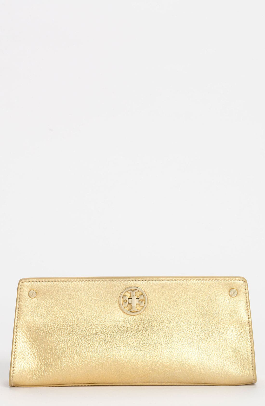 Main Image - Tory Burch 'Austin' Leather Clutch