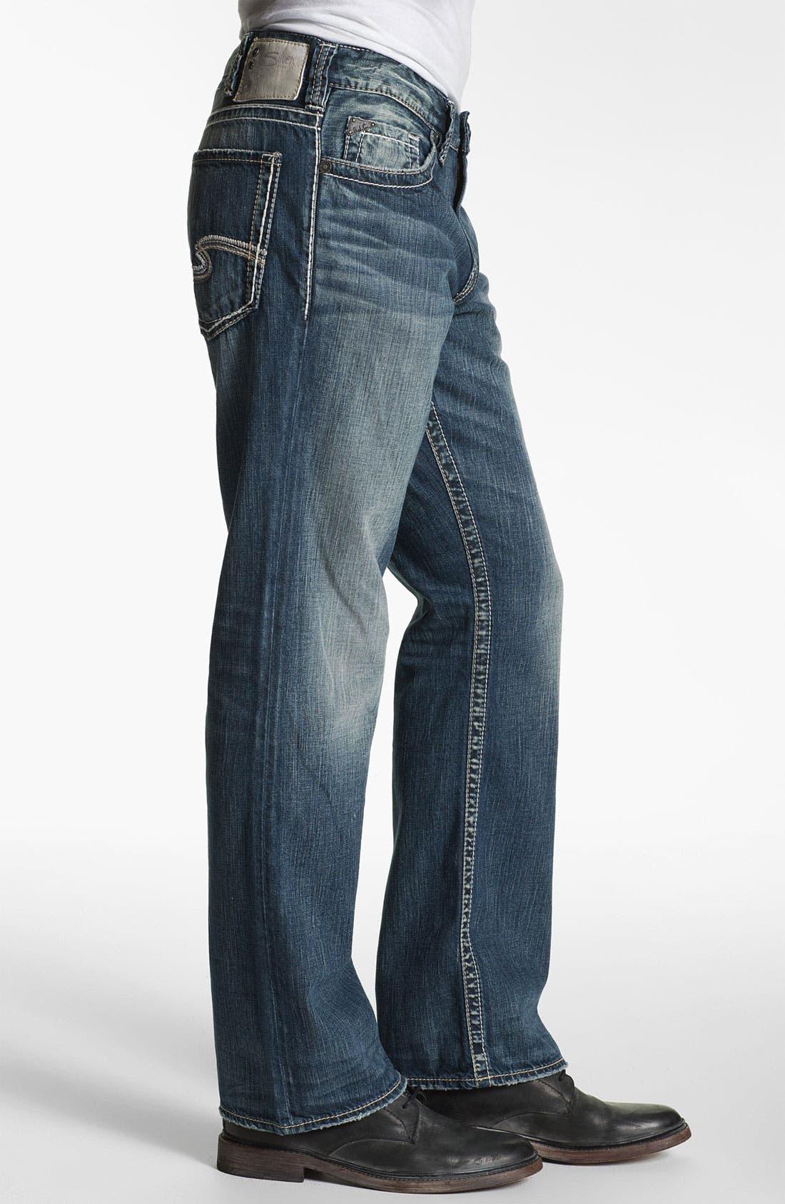 Alternate Image 3  - Silver Jeans Co. 'Grayson' Bootcut Jeans (Indigo)