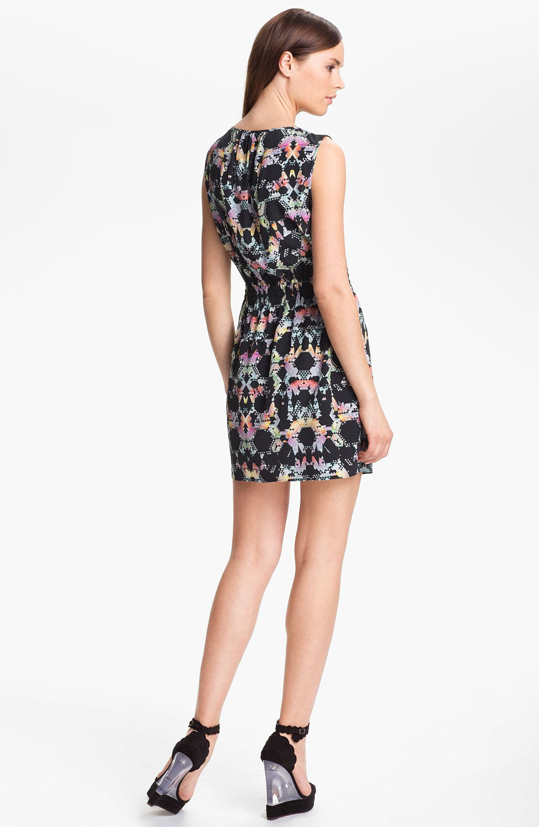 Alternate Image 2  - Tibi Print Blouson Dress