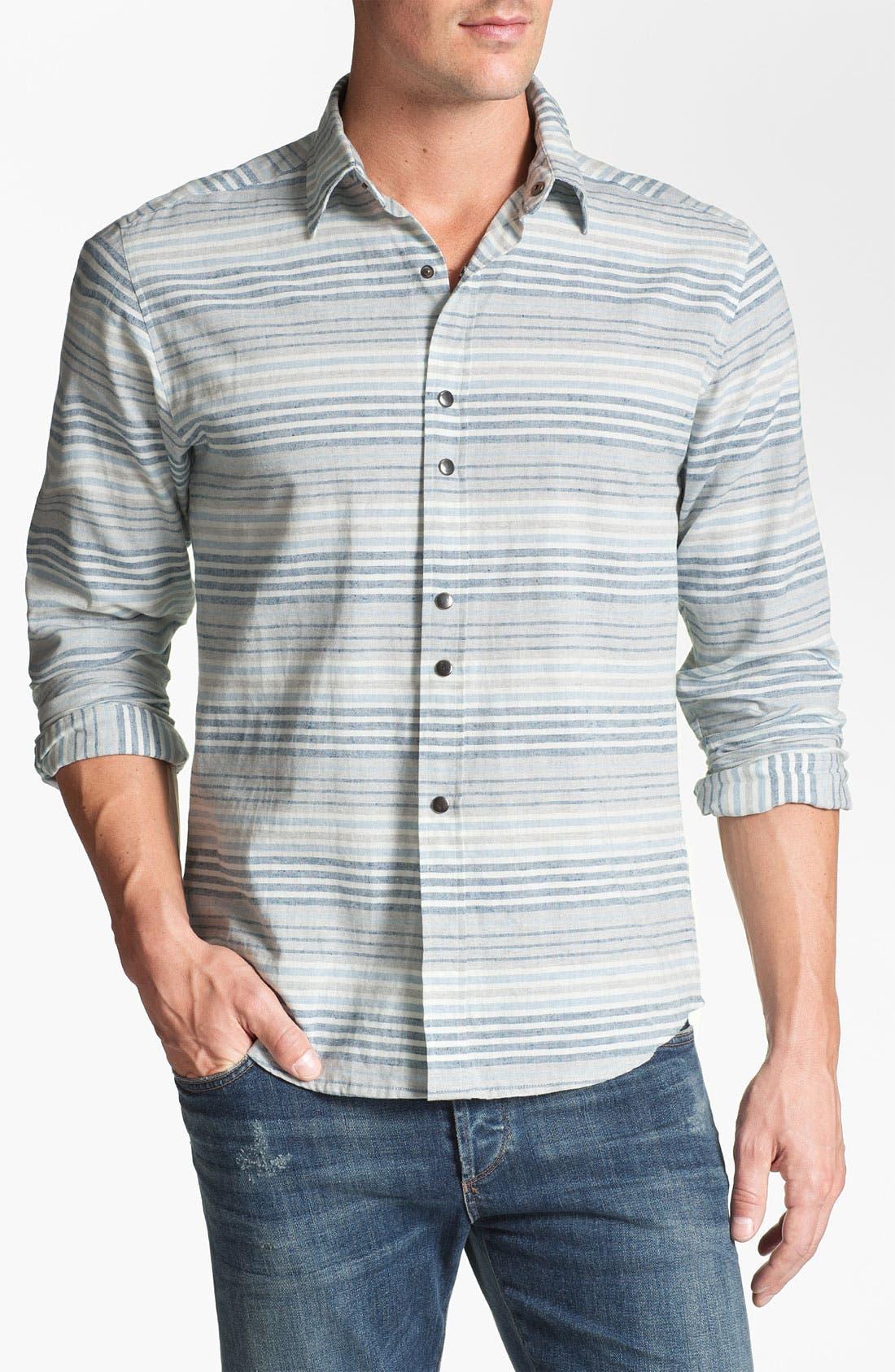 Alternate Image 1 Selected - W.R.K 'Augusta' Trim Fit Sport Shirt
