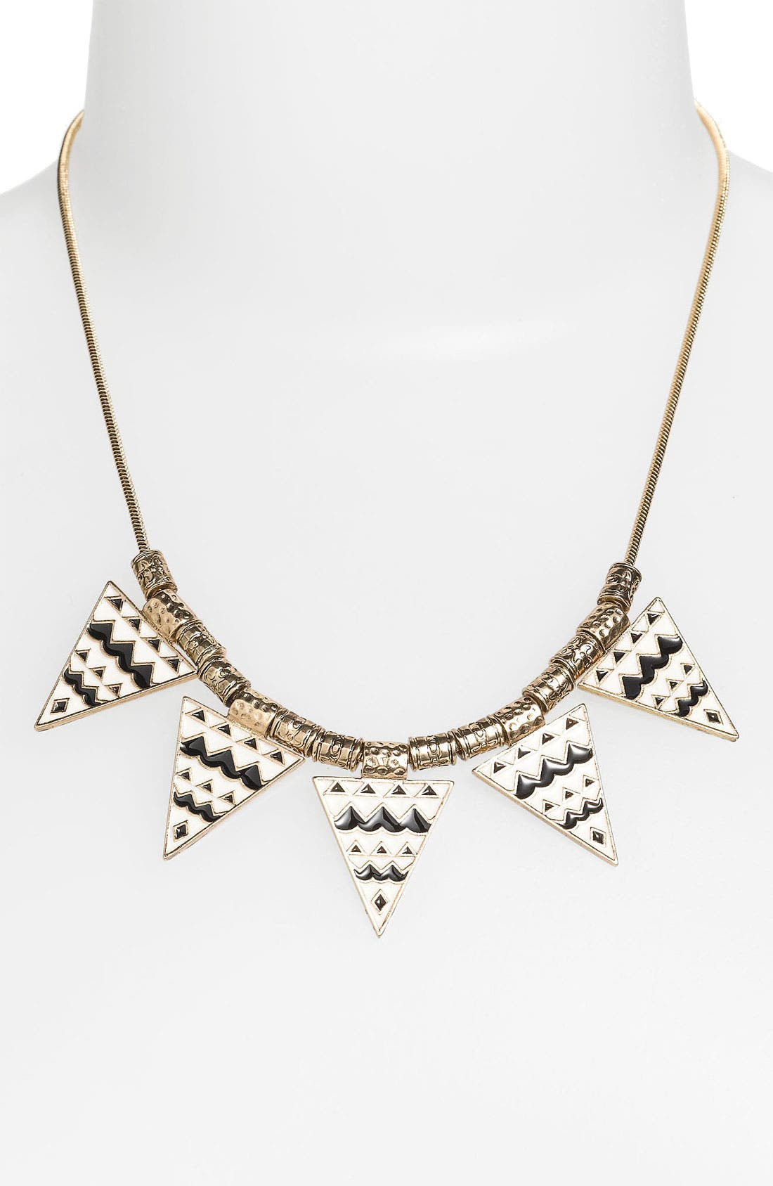 Alternate Image 1 Selected - Stephan & Co. 'Aztec Triangle' Statement Necklace