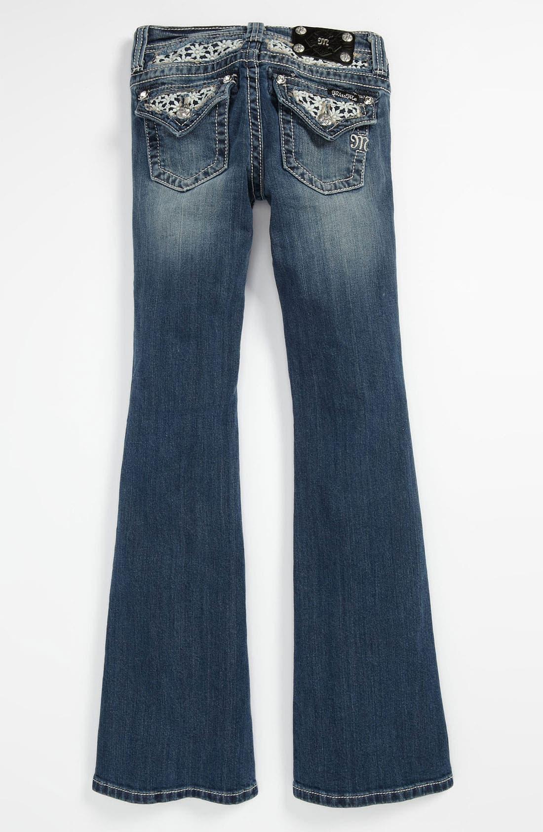 Main Image - Miss Me Bootcut Jeans (Big Girls)