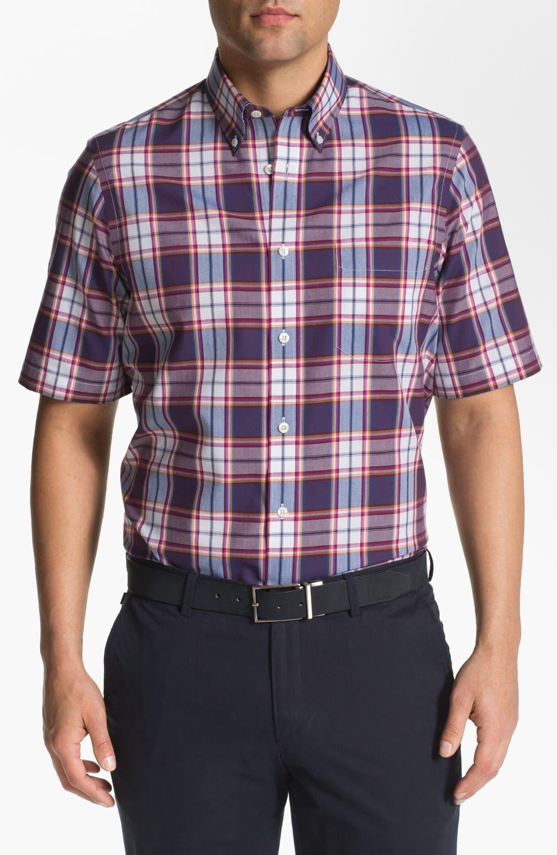 Alternate Image 1 Selected - Nordstrom Short Sleeve Poplin Sport Shirt