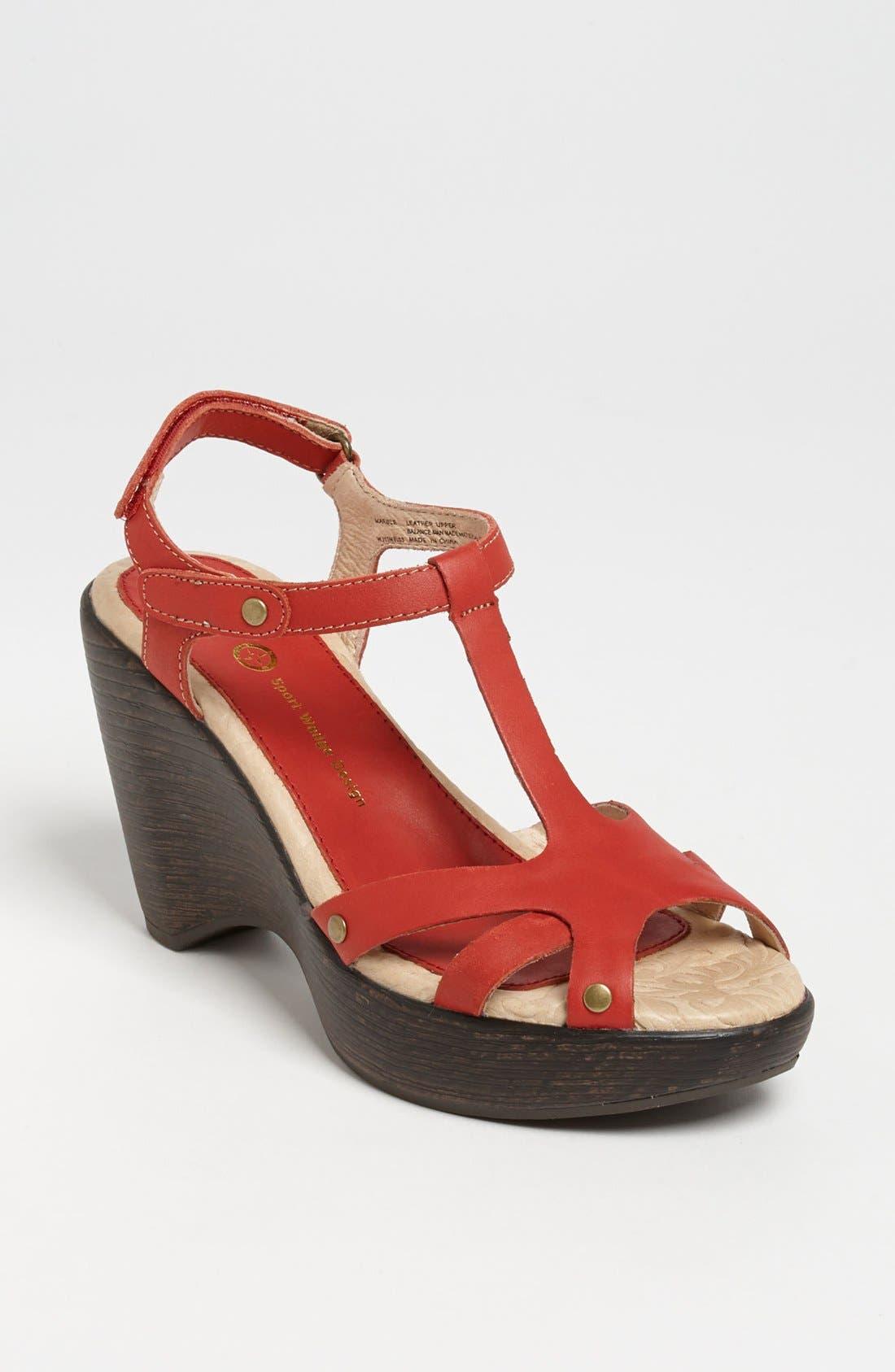 Alternate Image 1 Selected - Jambu 'Marble' Sandal