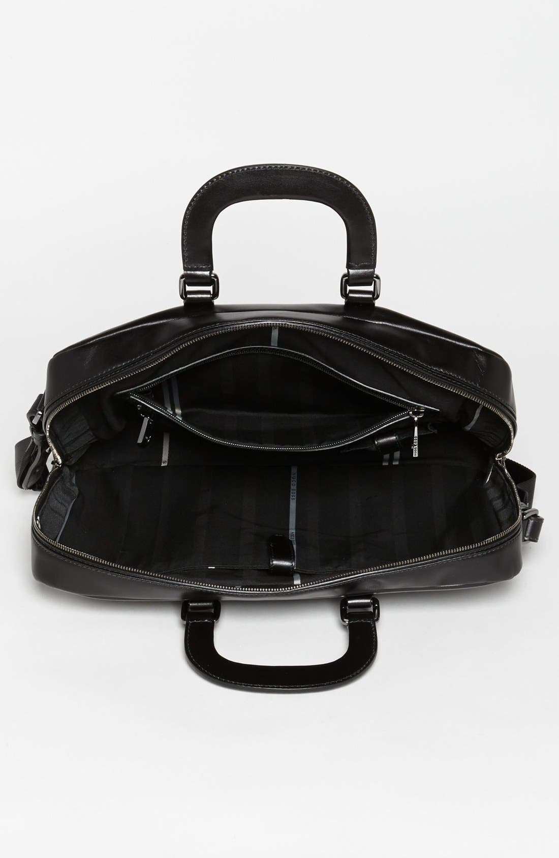 Alternate Image 3  - BOSS Black 'Possiv' Leather Briefcase