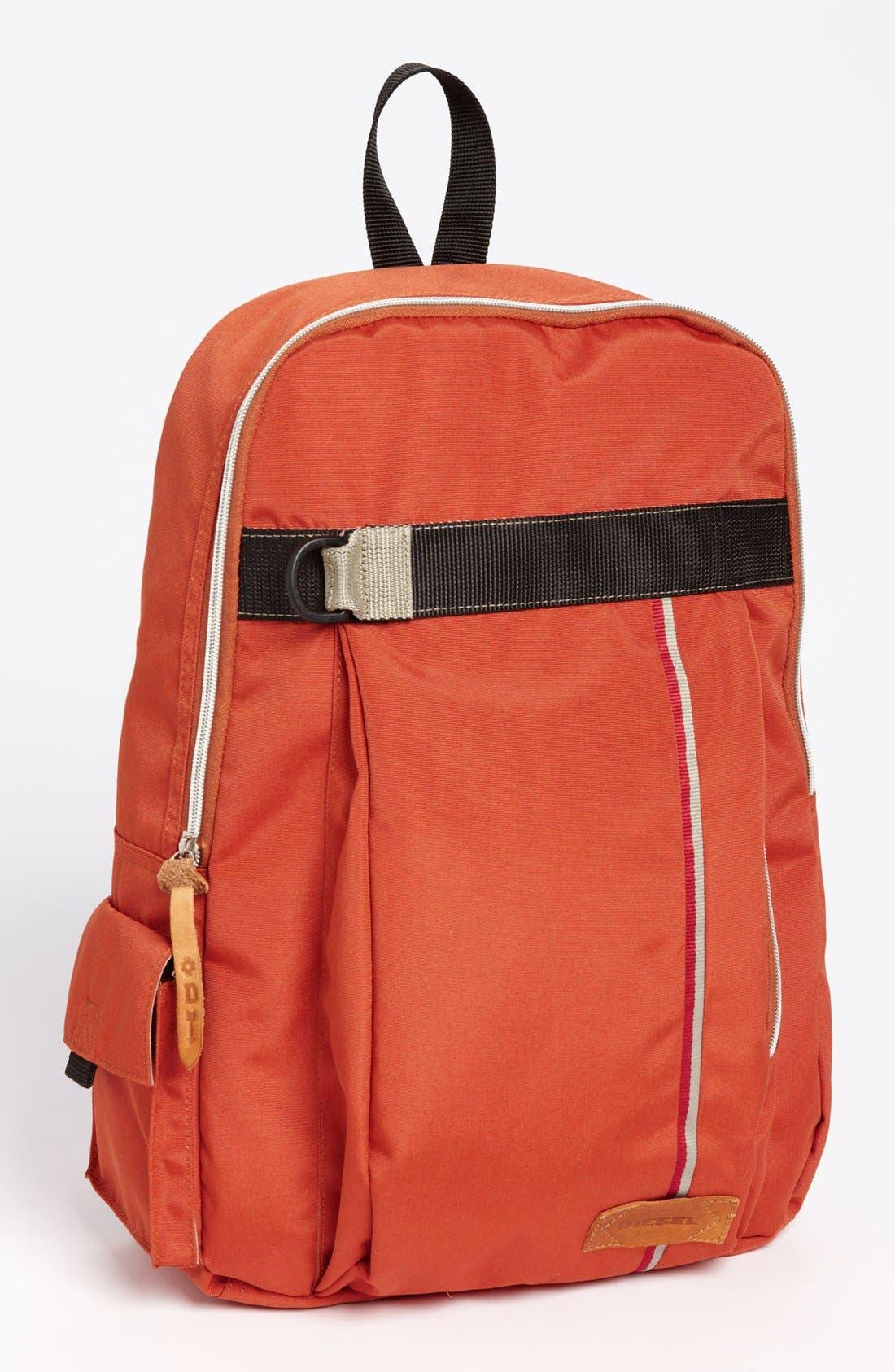 Alternate Image 1 Selected - DIESEL® 'Get on Track' Backpack
