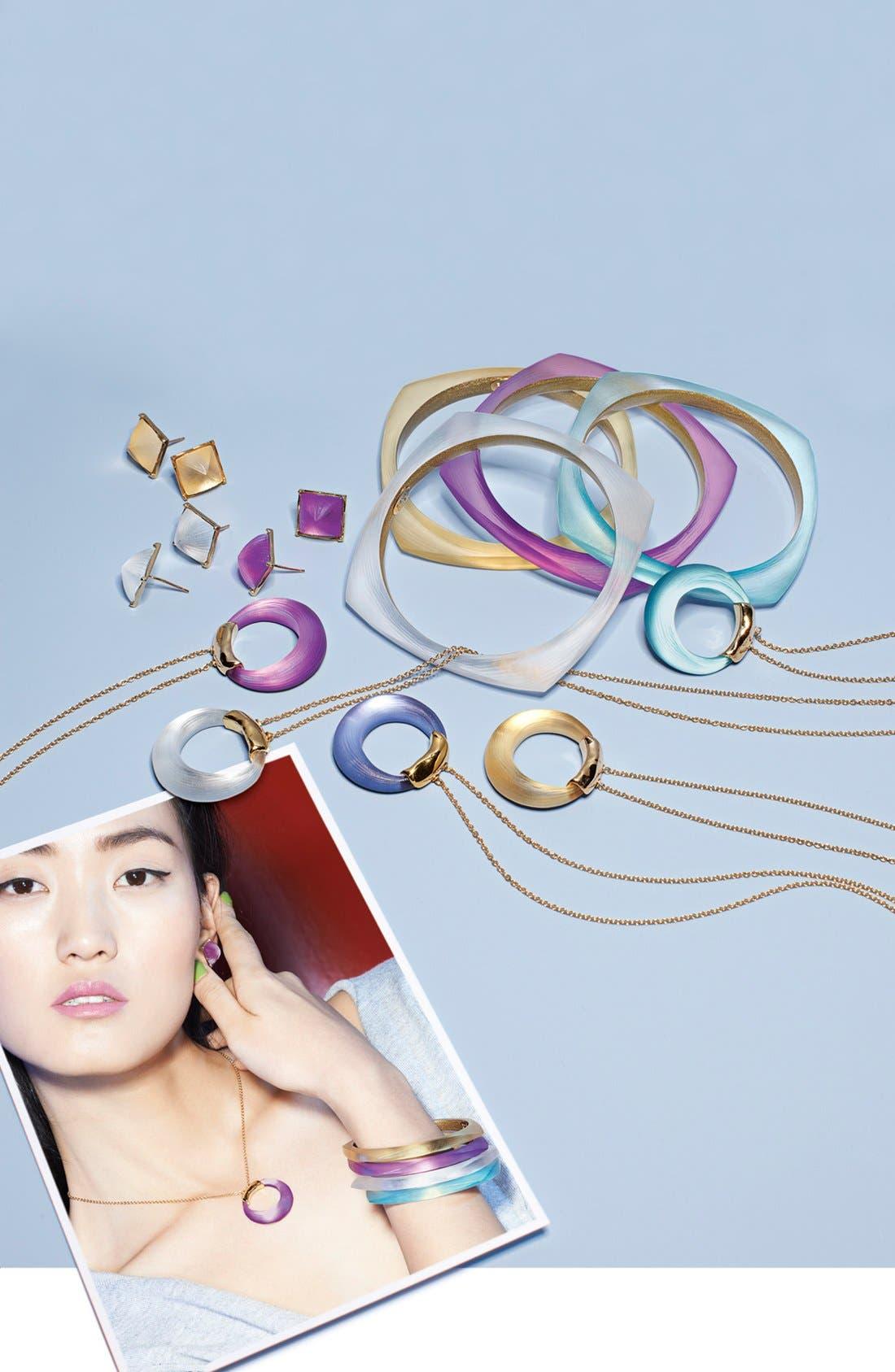 Alternate Image 2  - Alexis Bittar 'Lucite®' Pyramid Stud Earrings