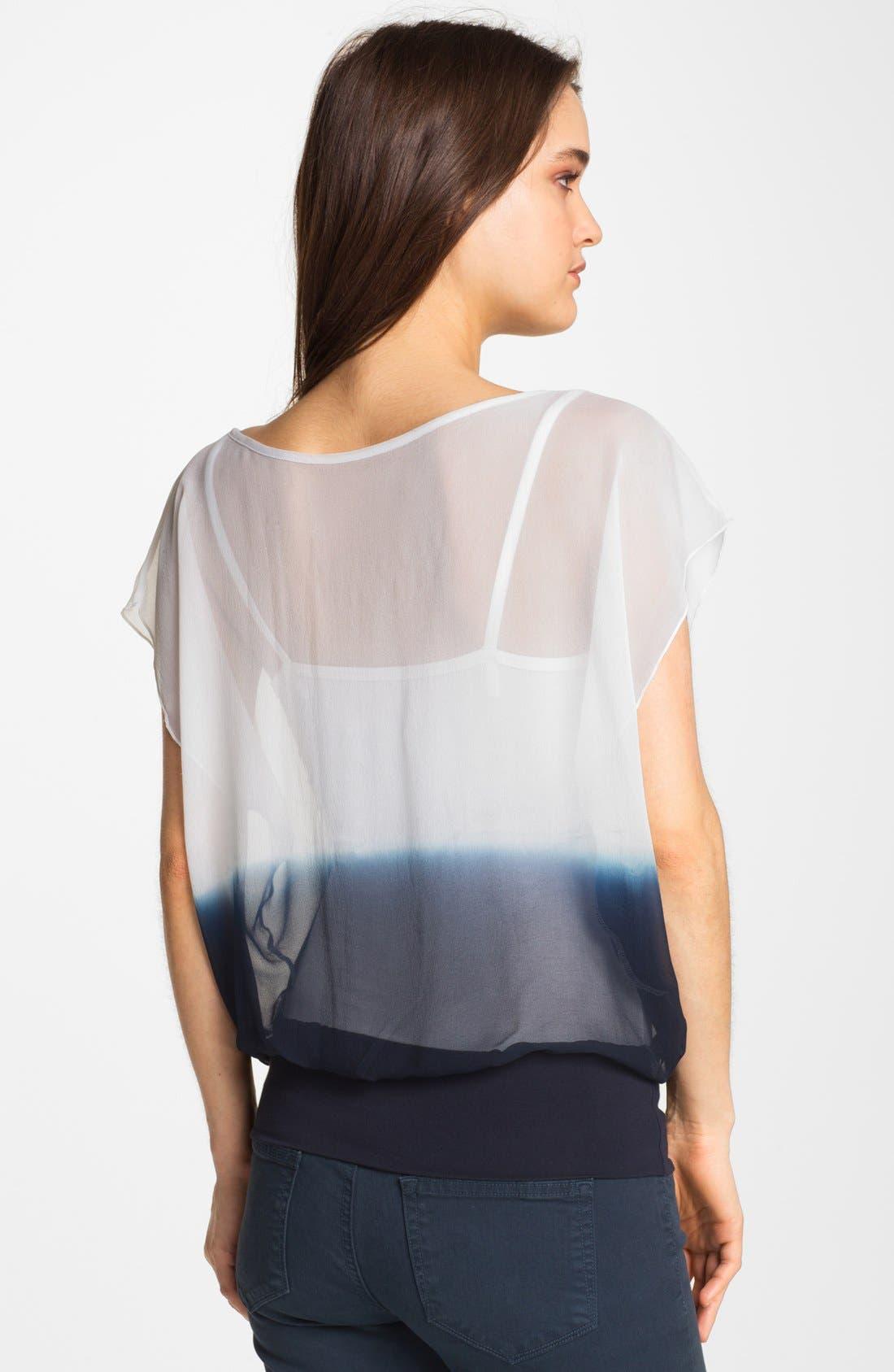 Alternate Image 2  - Bailey 44 'Sunrise' Dip Dye Blouson Top