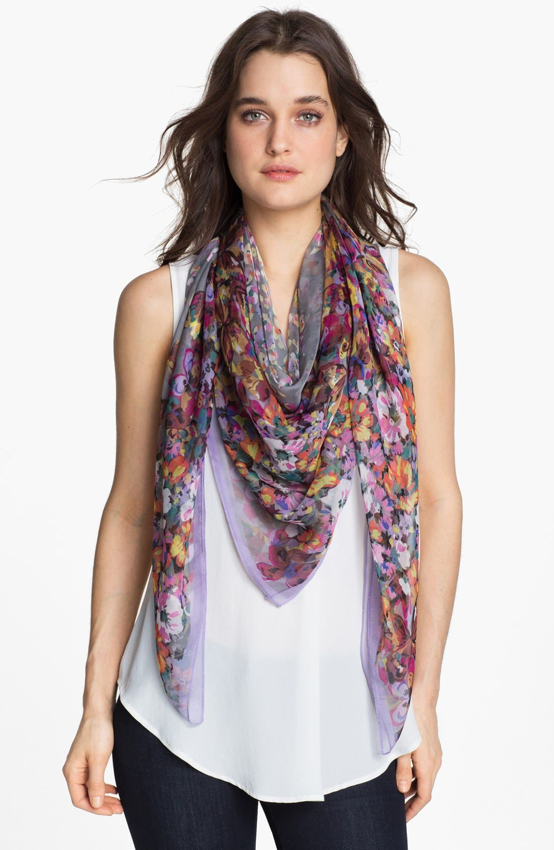 Alternate Image 1 Selected - Sayami 'Butterfly Flower' Scarf