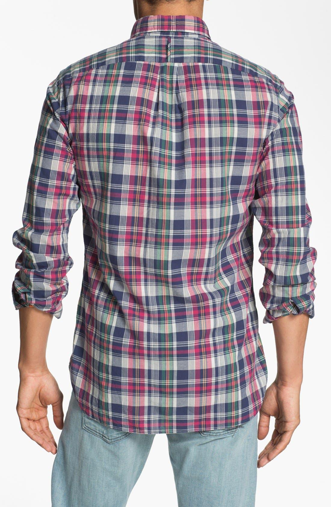 Alternate Image 3  - J. Press York Street Regular Fit Sport Shirt