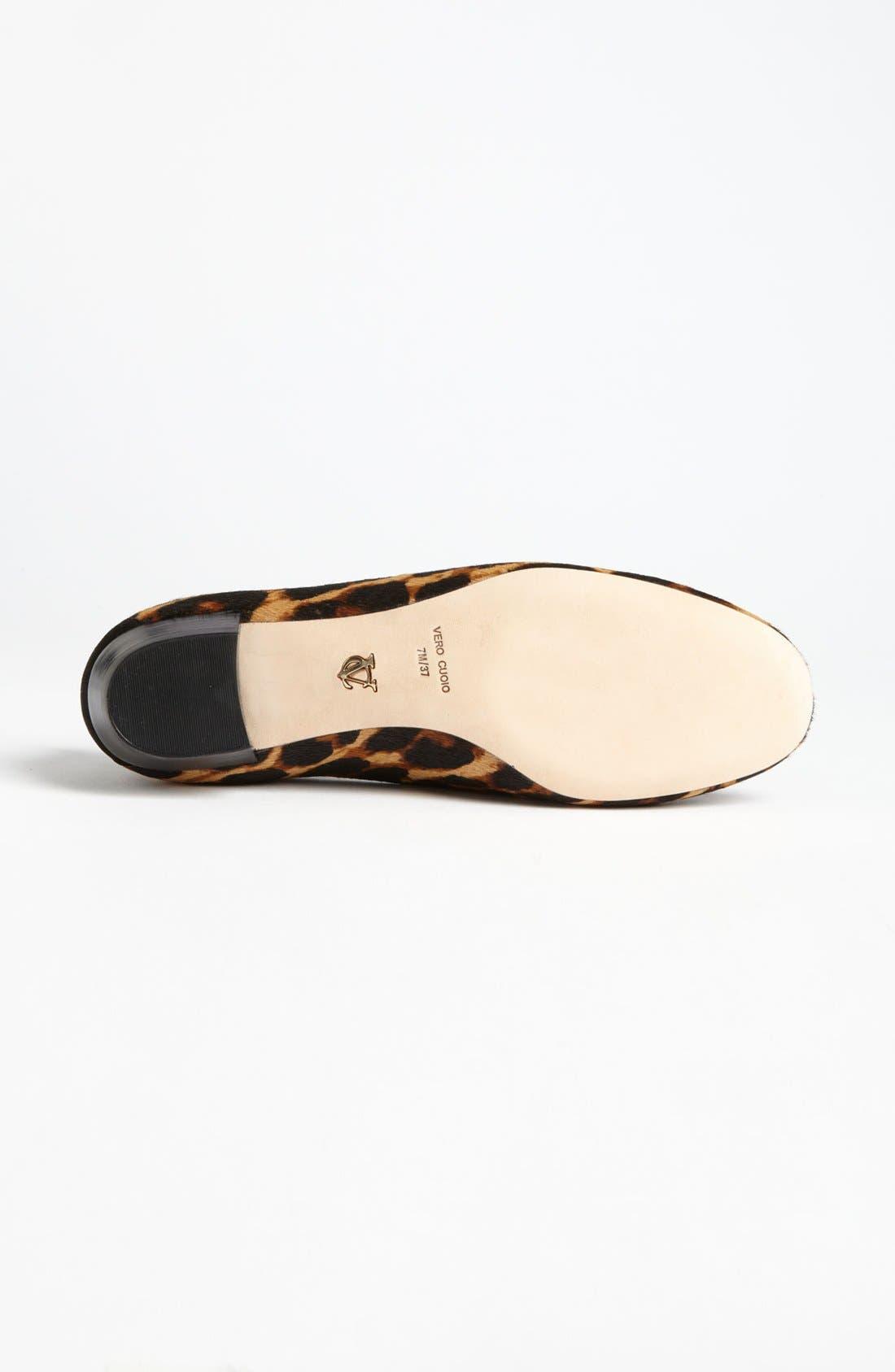 'Nancy' Loafer,                             Alternate thumbnail 4, color,                             Leopard Haircalf
