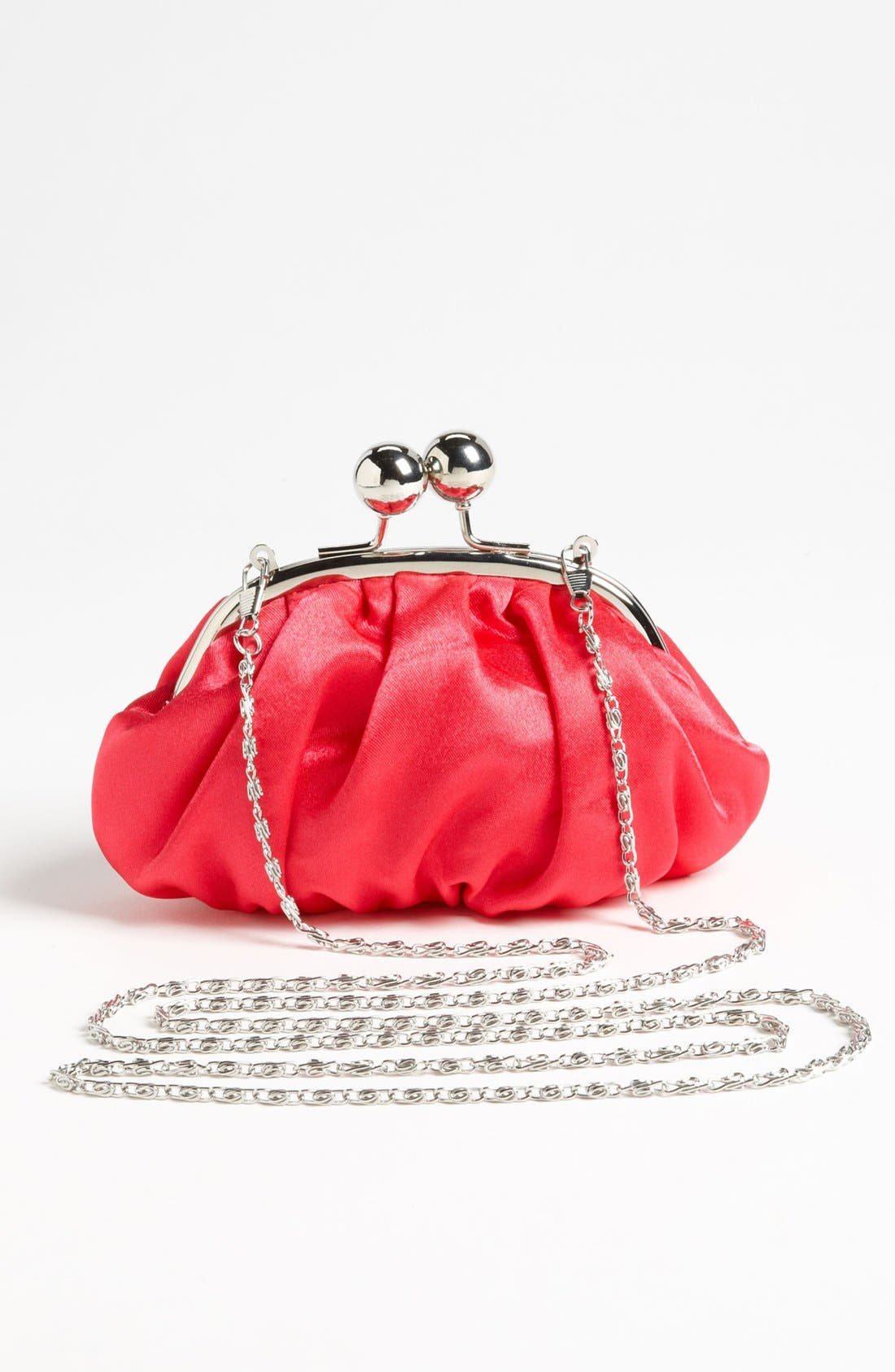 Alternate Image 4  - Capelli of New York Mini Satin Clutch (Girls)
