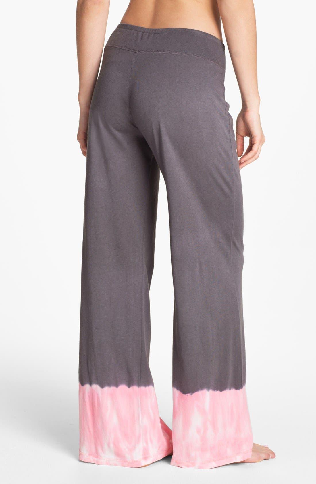 Alternate Image 2  - PJ Salvage 'Pink Dyes' Palazzo Pants