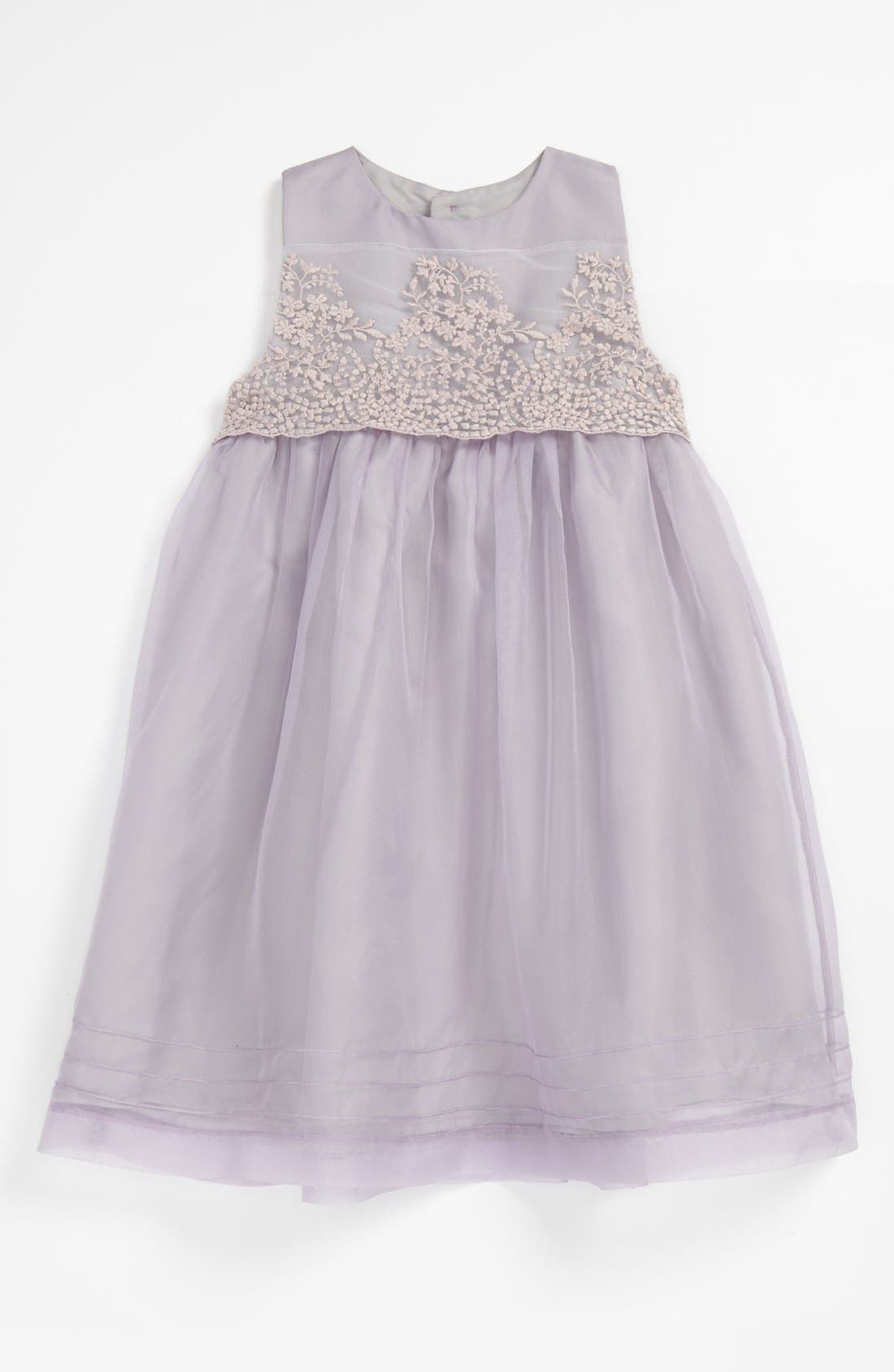 Alternate Image 1 Selected - Luli & Me Organza Dress (Baby)