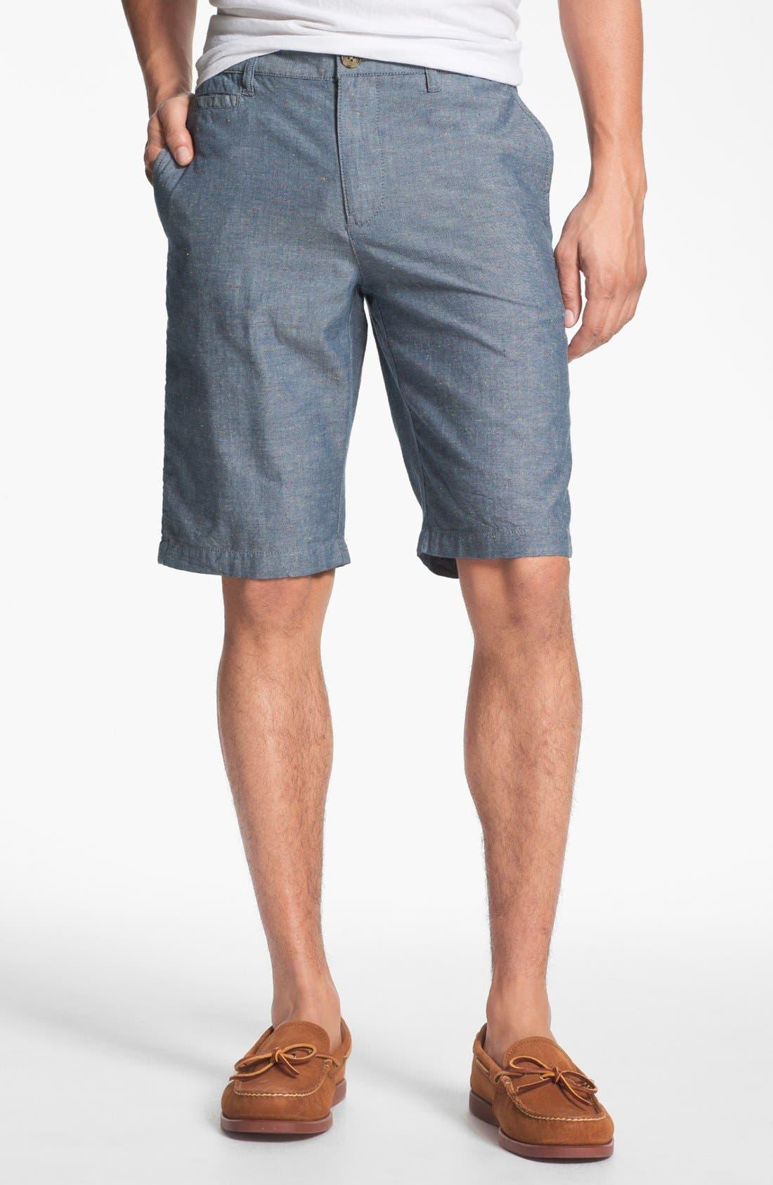 'Eastport' Nep Shorts,                             Main thumbnail 1, color,                             Blue Multi