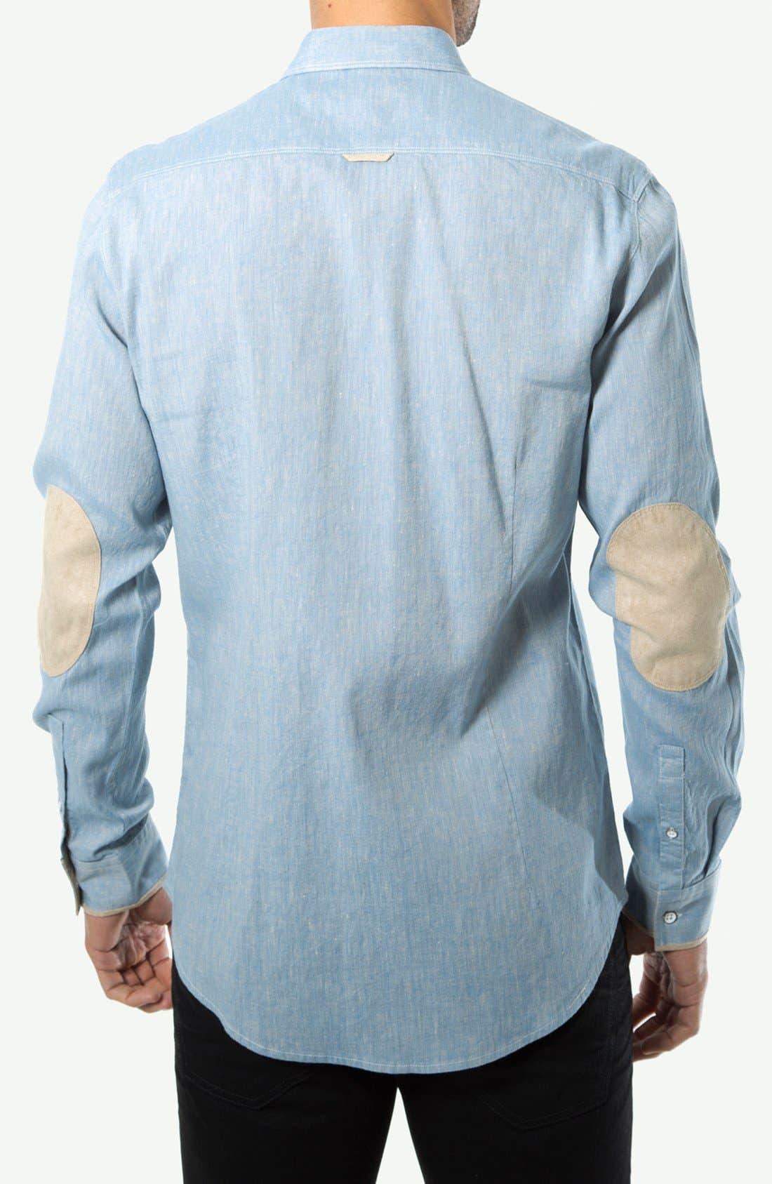 Alternate Image 2  - 7 Diamonds 'Cowboys' Cotton Sport Shirt