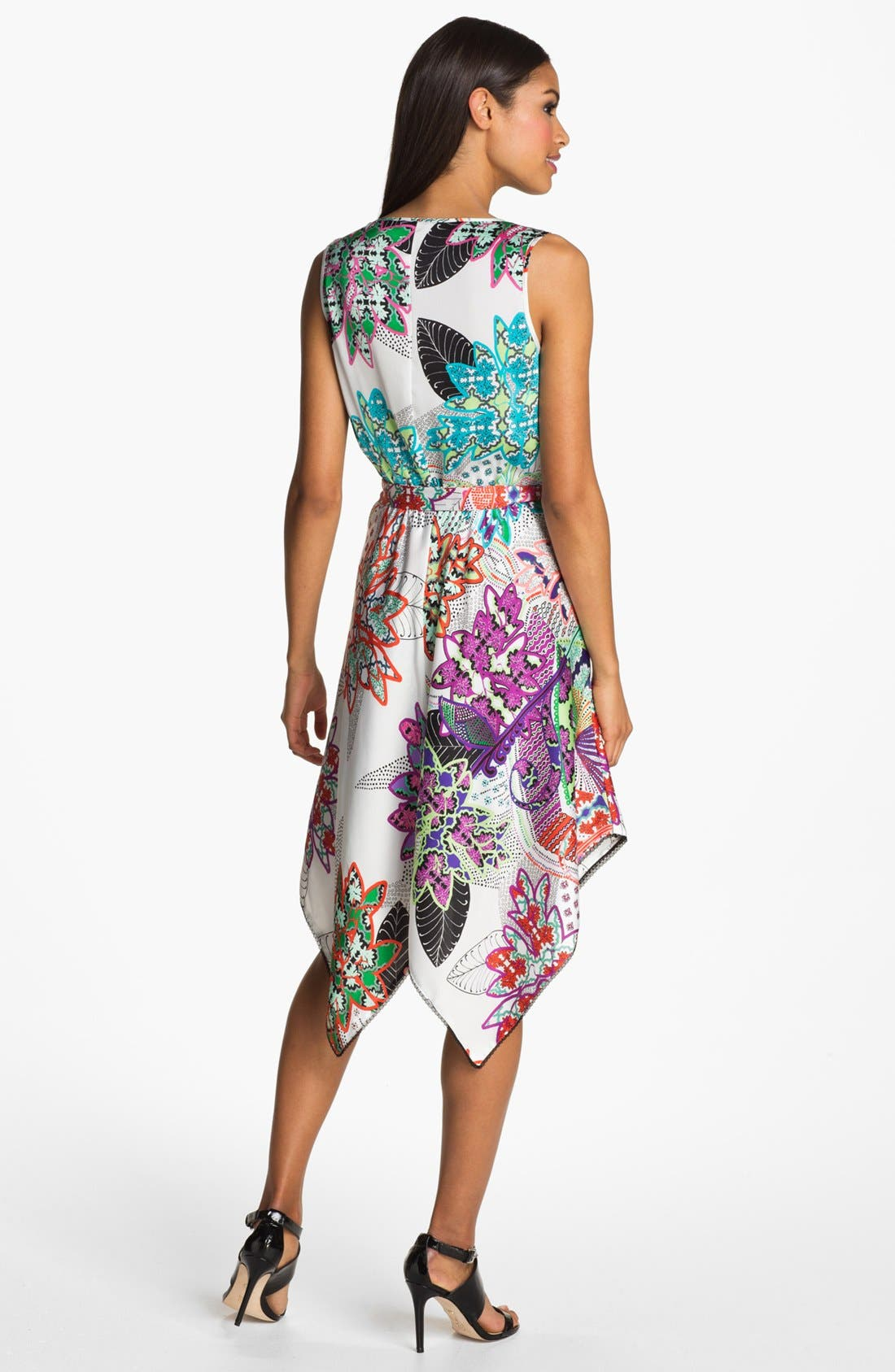Alternate Image 2  - Donna Morgan Sleeveless Print Dress