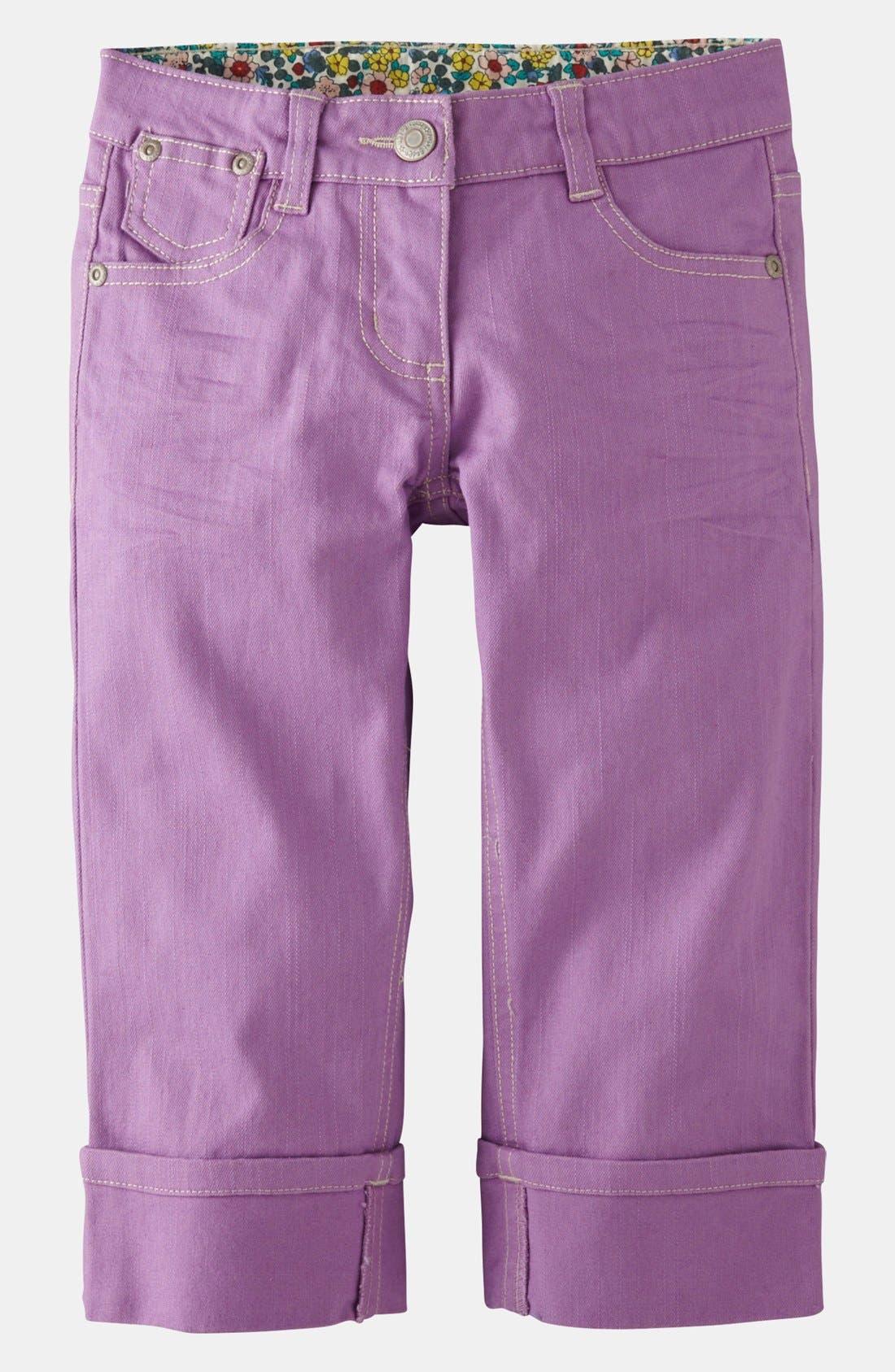 Main Image - Mini Boden Crop Jeans (Toddler, Little Girls & Big Girls)