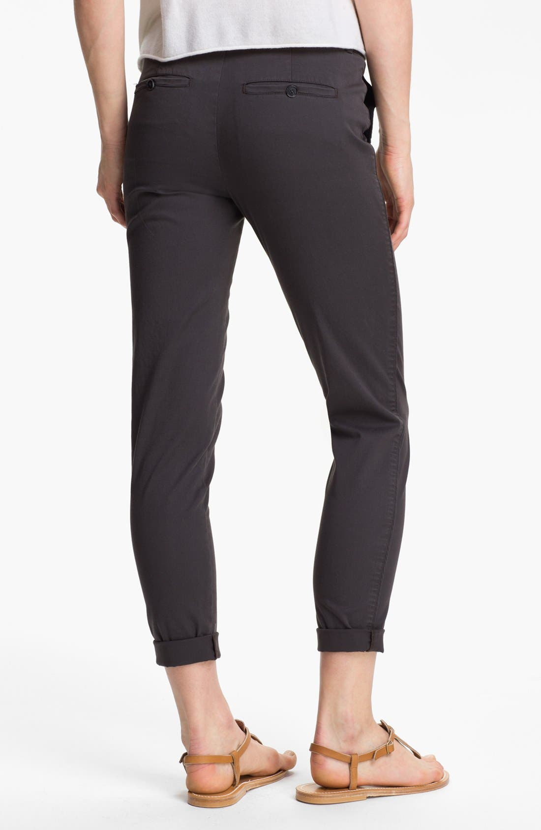 Alternate Image 2  - Vince Stretch Cotton Trousers