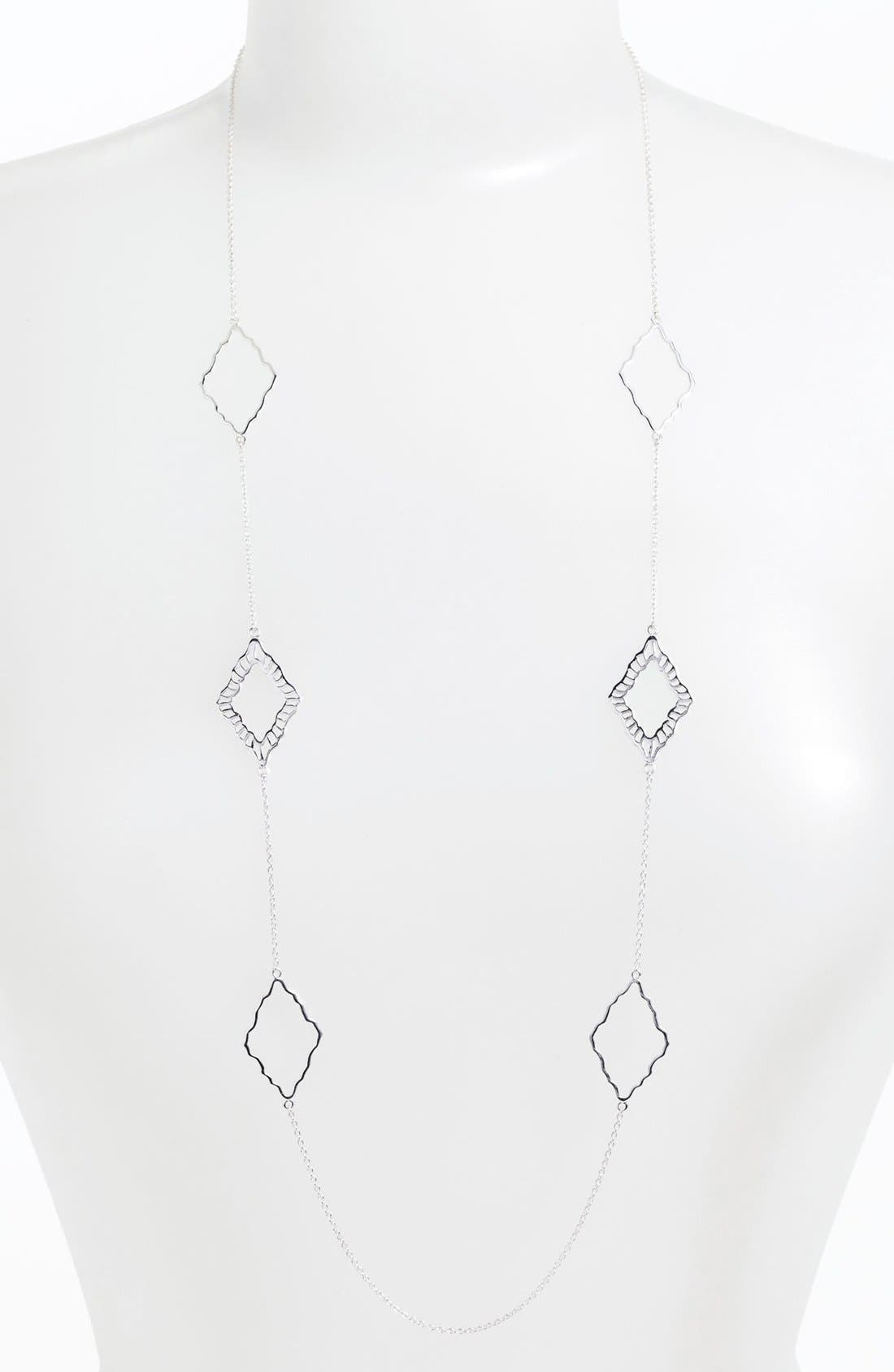 Alternate Image 1 Selected - Argento Vivo 'Valencia' Long Station Necklace (Nordstrom Exclusive)