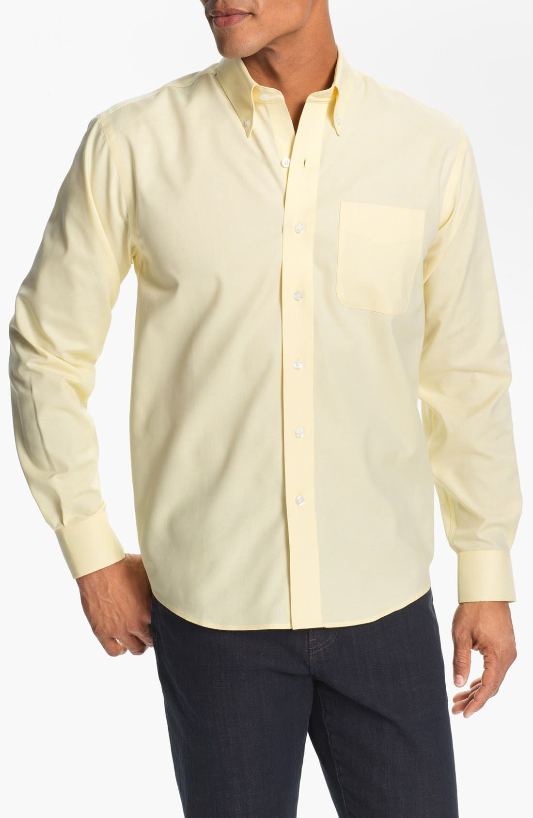 Alternate Image 1 Selected - Cutter & Buck Nailshead - Epic Easy Care Classic Fit Sport Shirt