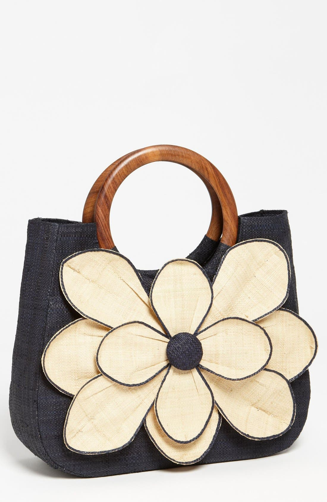 Alternate Image 1 Selected - Mar y Sol 'Guadalupe' Straw Shopper