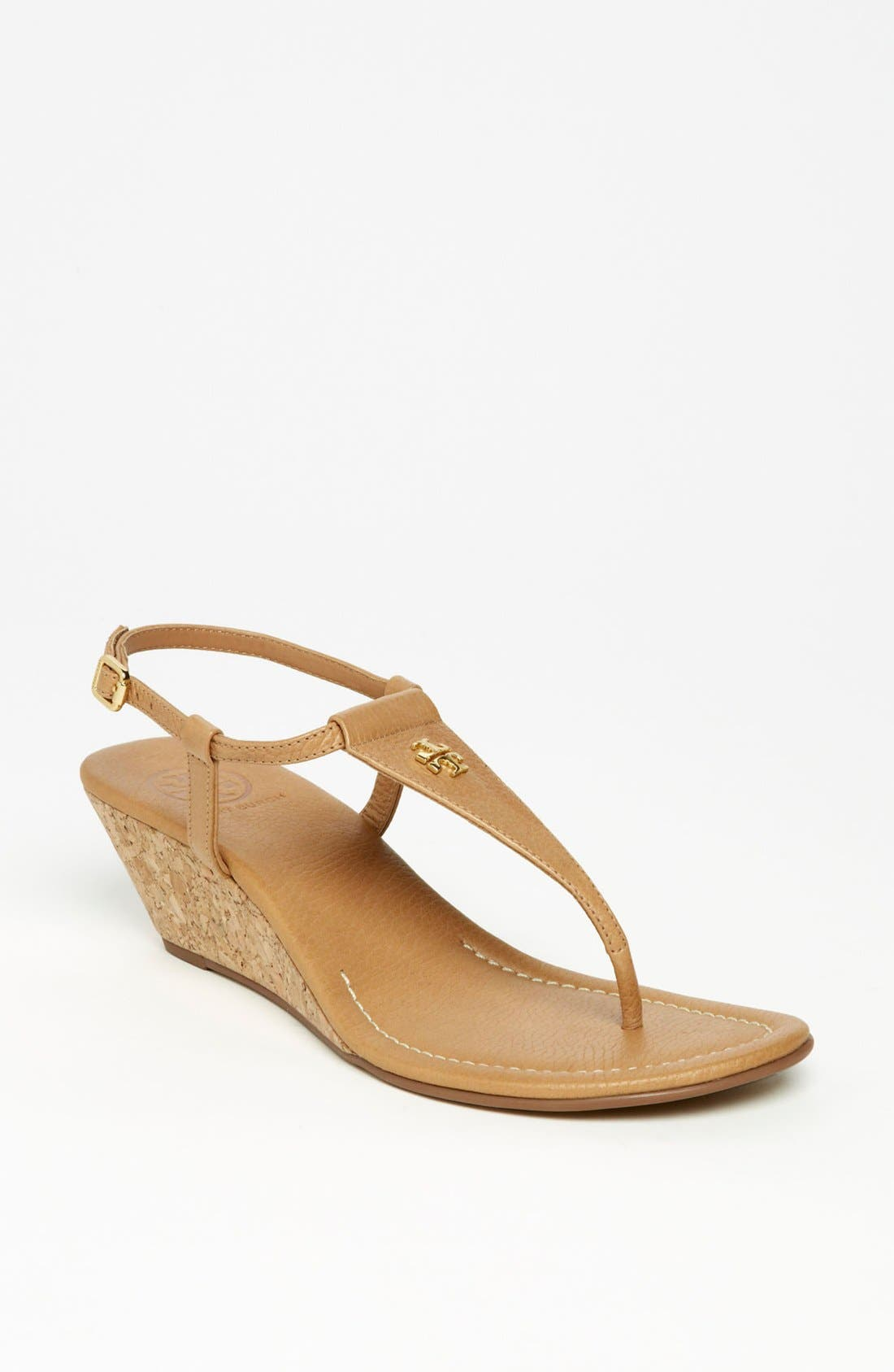 Alternate Image 1 Selected - Tory Burch 'Britton' Wedge Sandal