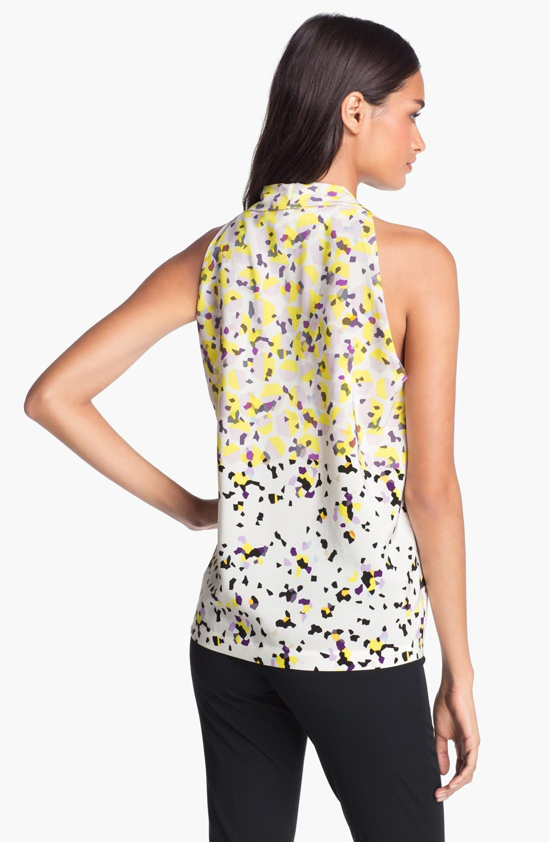 Alternate Image 2  - Diane von Furstenberg 'Reagan' Print Silk Top
