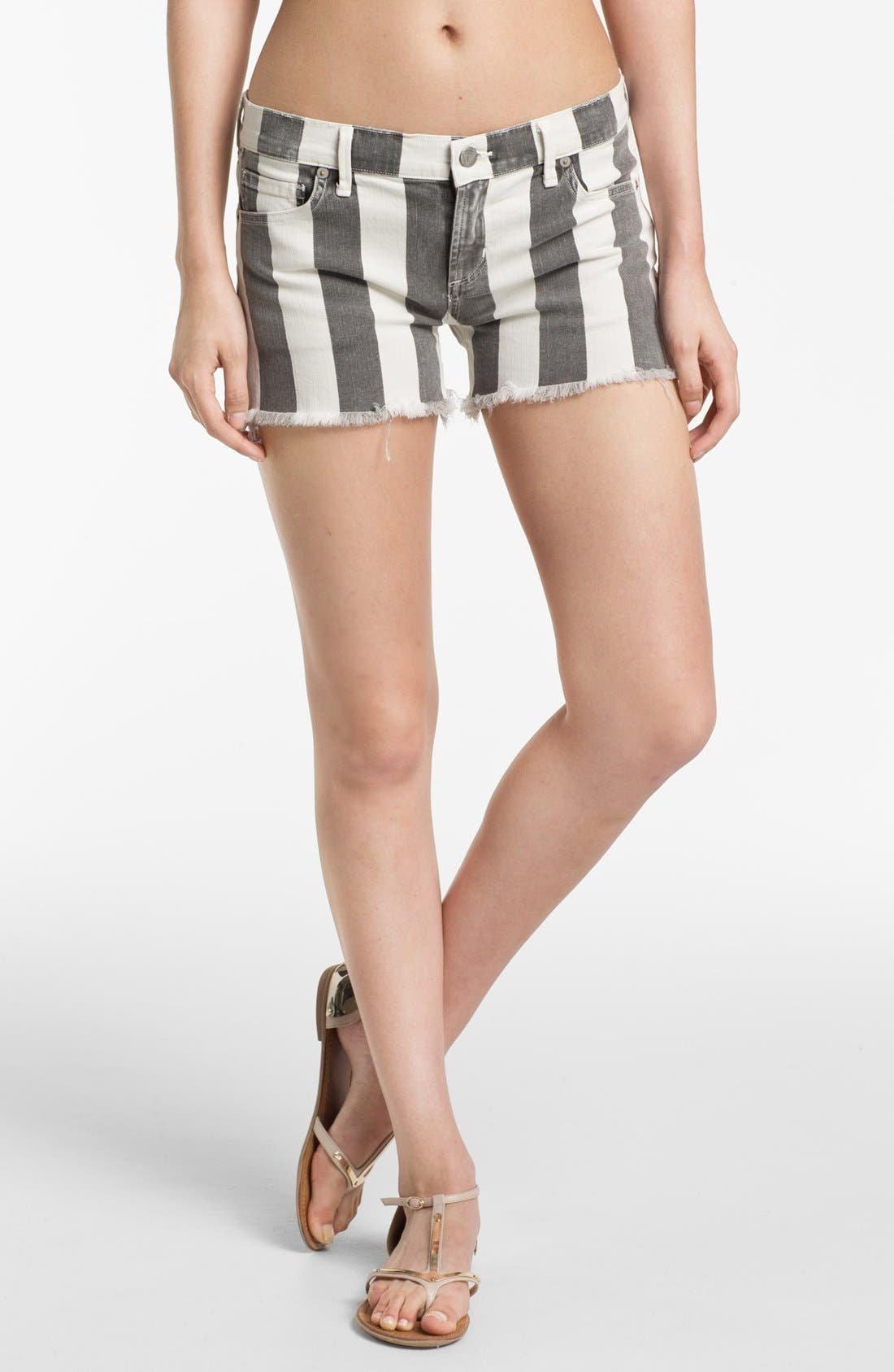 Alternate Image 1 Selected - Citizens of Humanity 'Ava' Cutoff Shorts (Vintage Ivory)