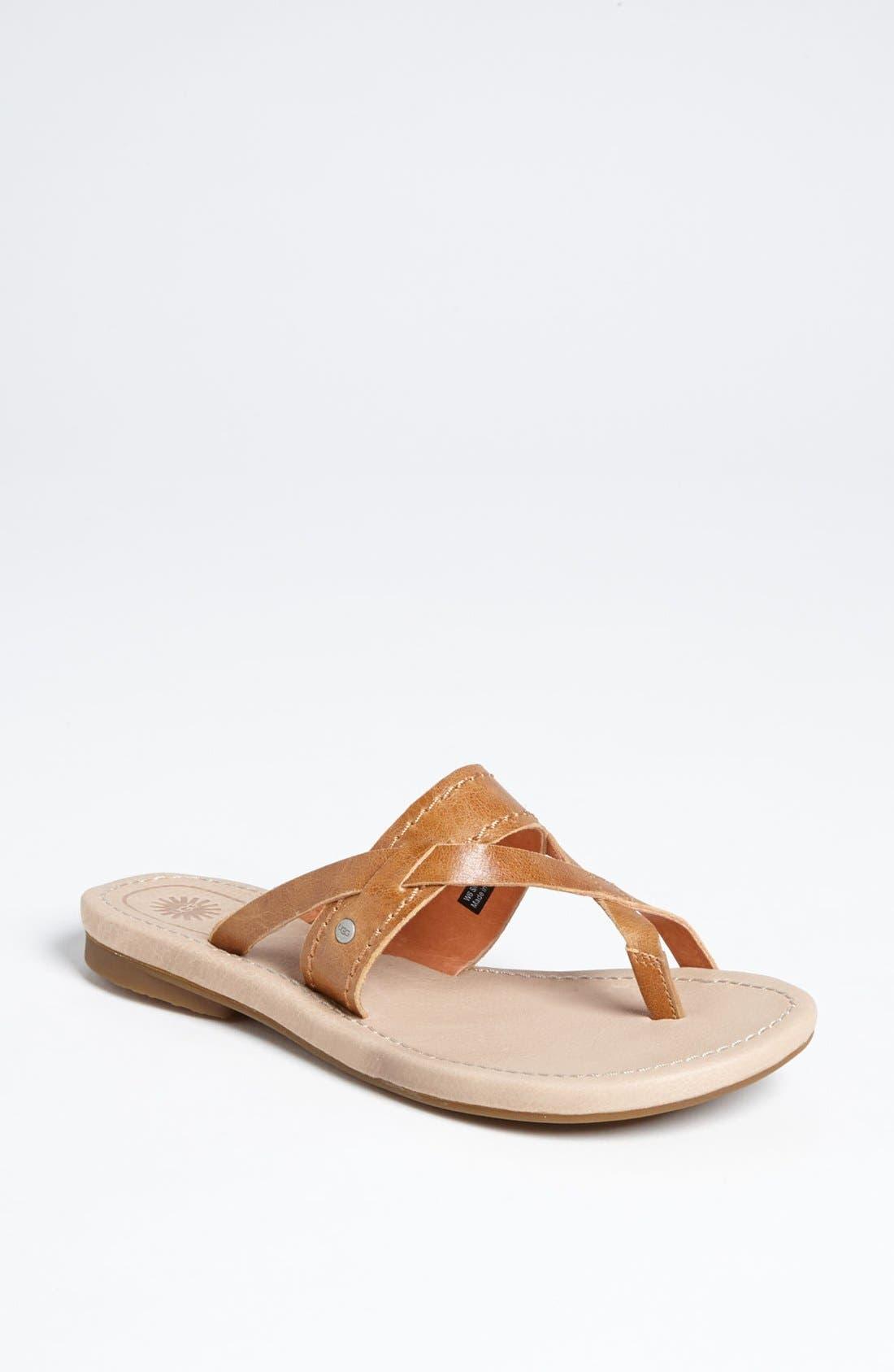 Alternate Image 1 Selected - UGG® Australia 'Mireya' Sandal (Women)