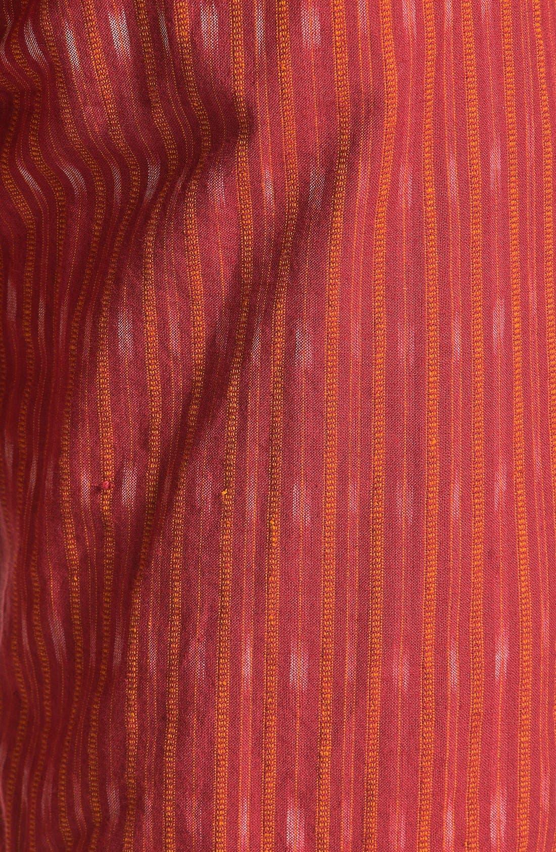 Alternate Image 3  - Burkman Bros Stripe Woven Shorts