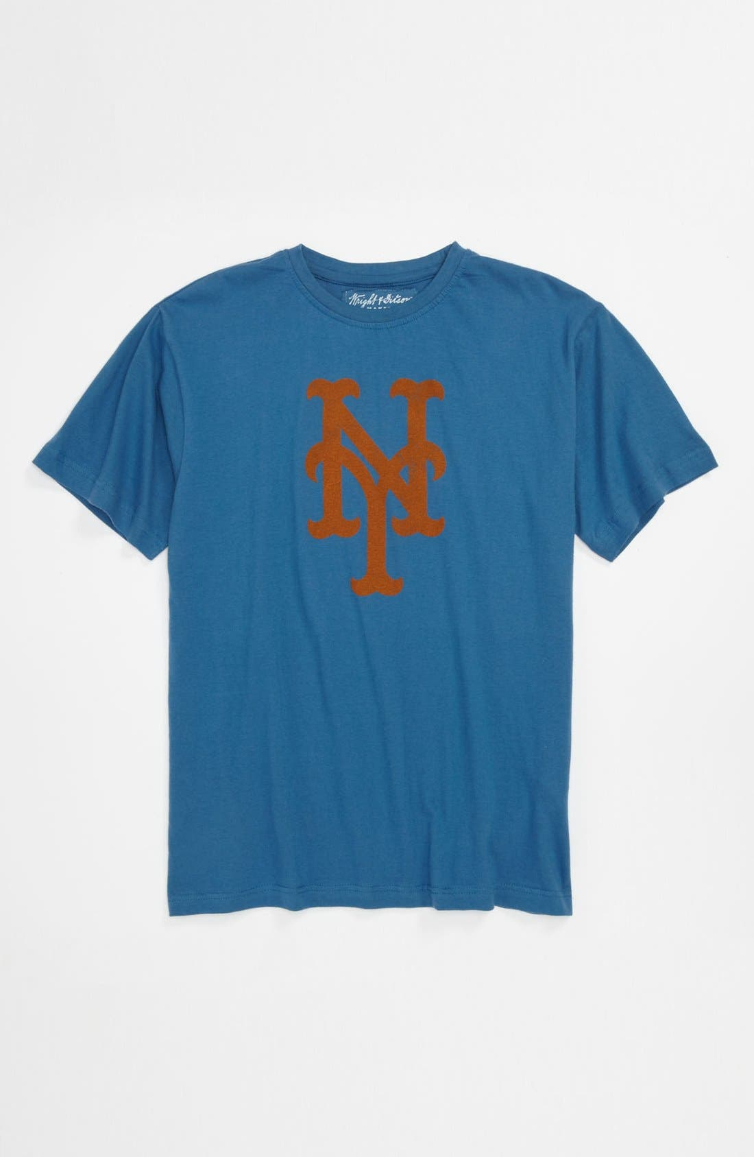 'New York Mets' T-Shirt,                         Main,                         color, Blue