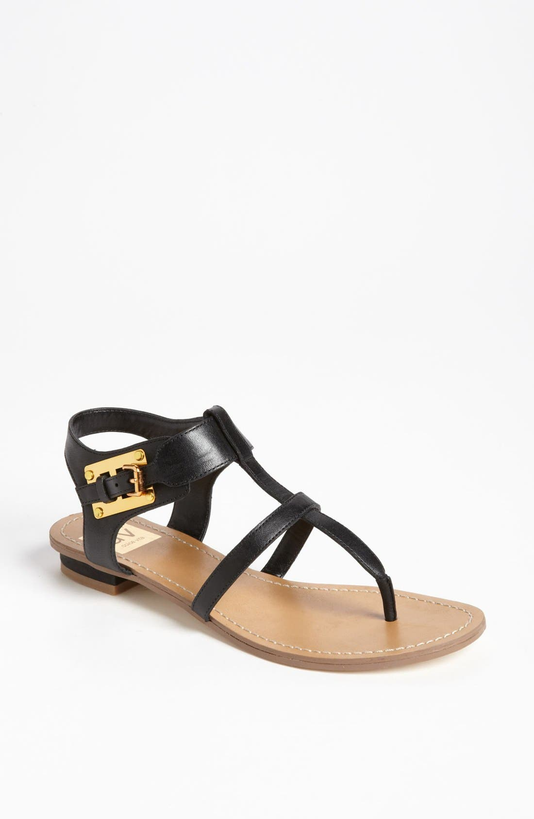 DV by Dolce Vita 'Hani' Sandal,                             Main thumbnail 1, color,                             Black
