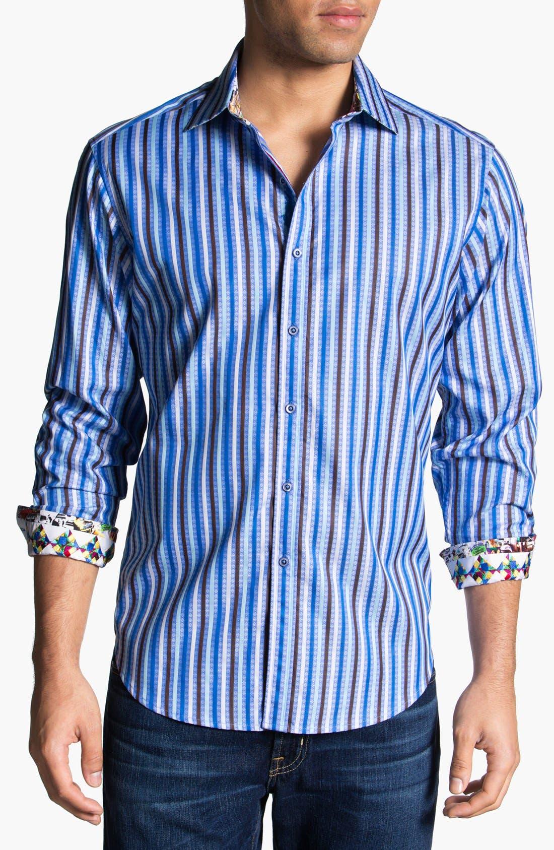 Main Image - Robert Graham 'Caneel' Sport Shirt