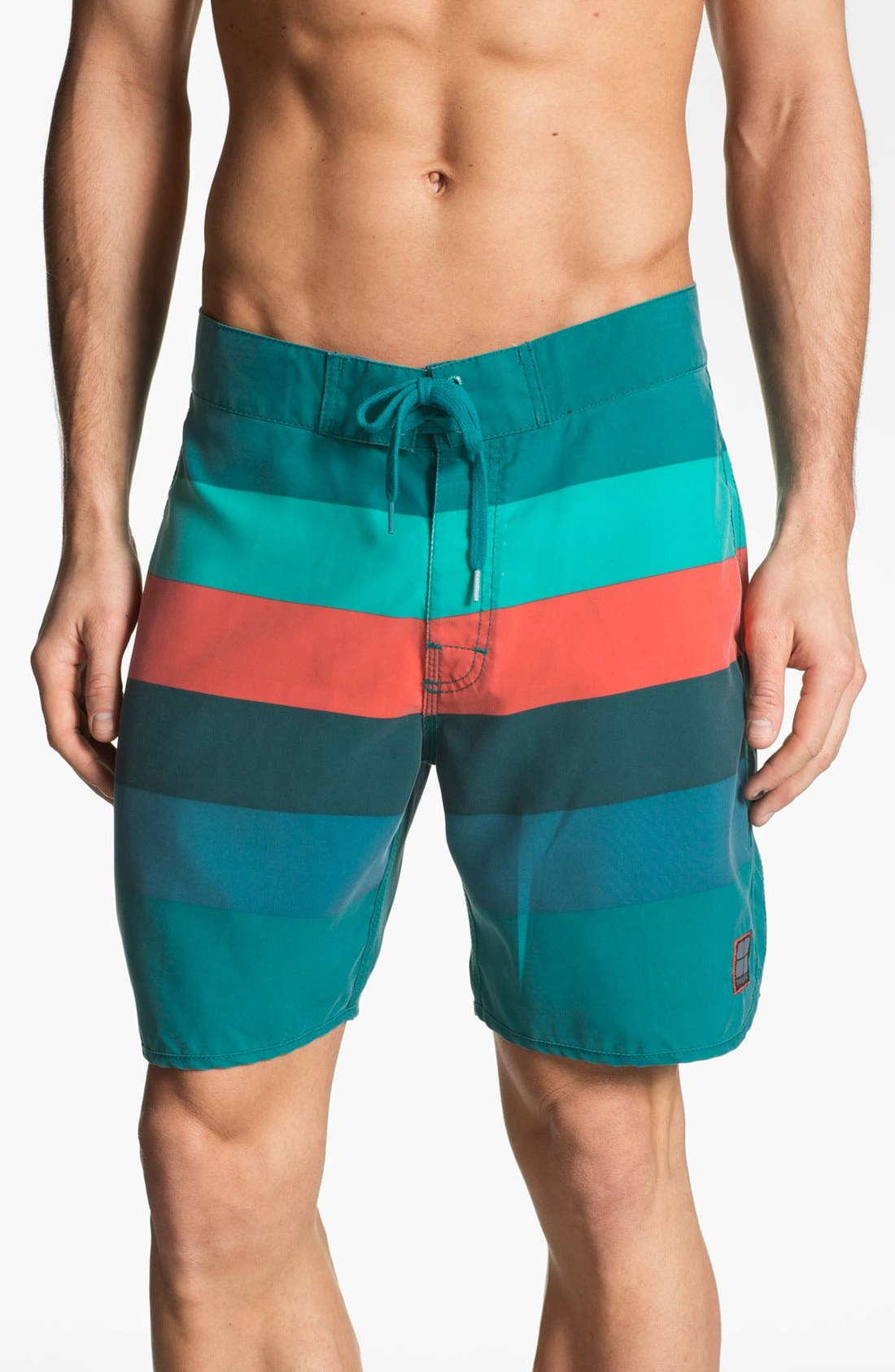 Main Image - Insight 'Retro Stud' Swim Shorts