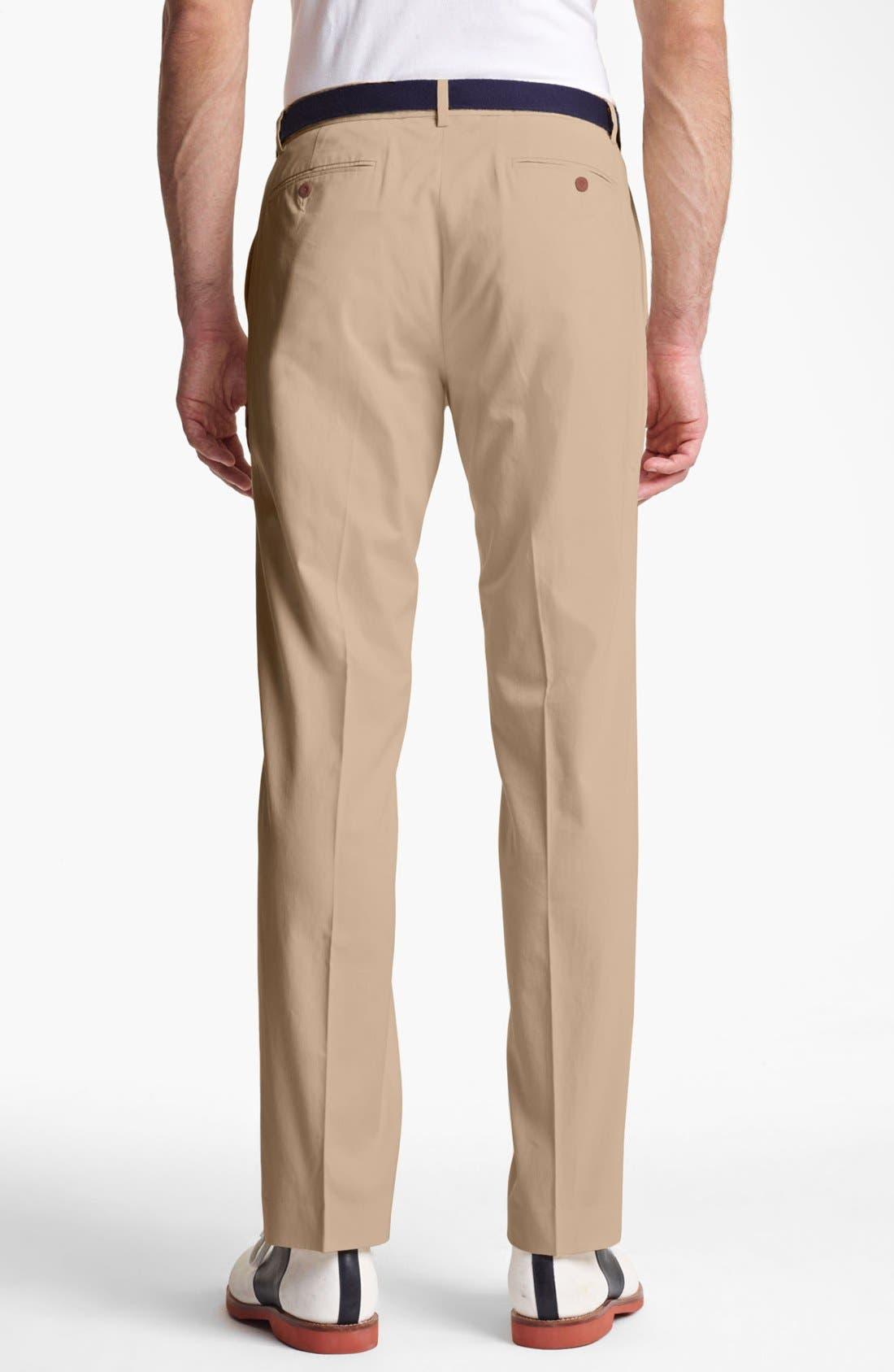 Alternate Image 2  - Polo Ralph Lauren 'Preston' Silk & Cotton Pants