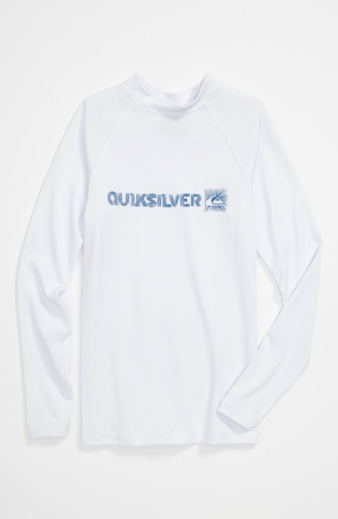 Alternate Image 1 Selected - Quiksilver 'Phaser' Rashguard (Big Boys)
