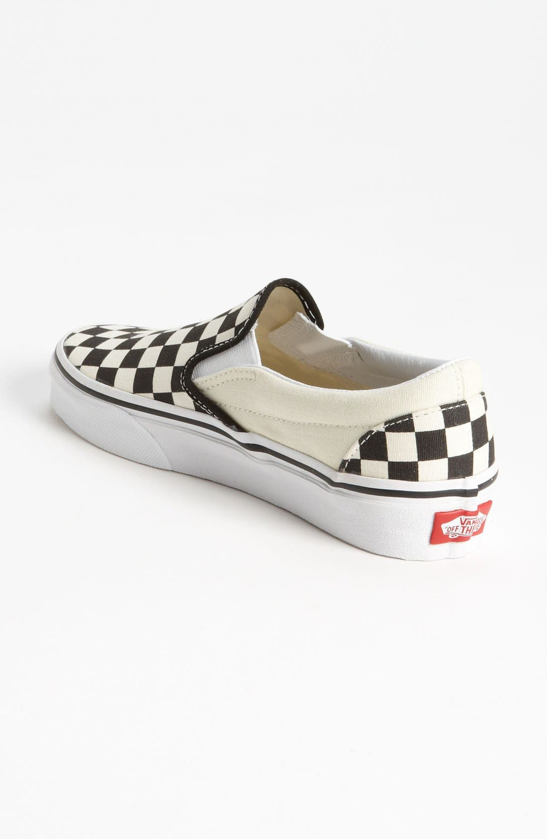 Alternate Image 3  - Vans 'Classic' Checkerboard Sneaker (Women)