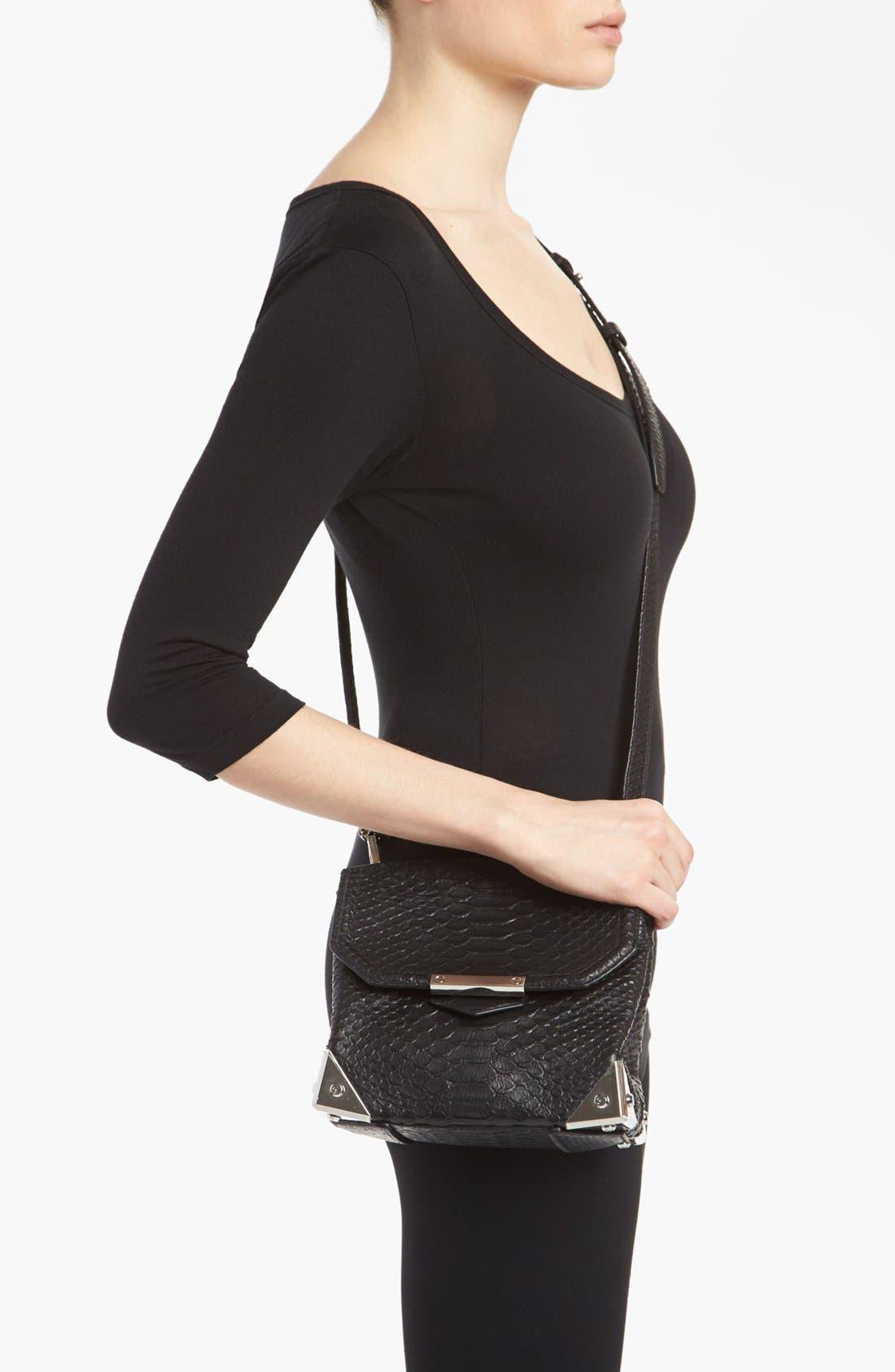 Alternate Image 2  - Alexander Wang 'Marion - Prisma' Python Embossed Leather Crossbody Bag