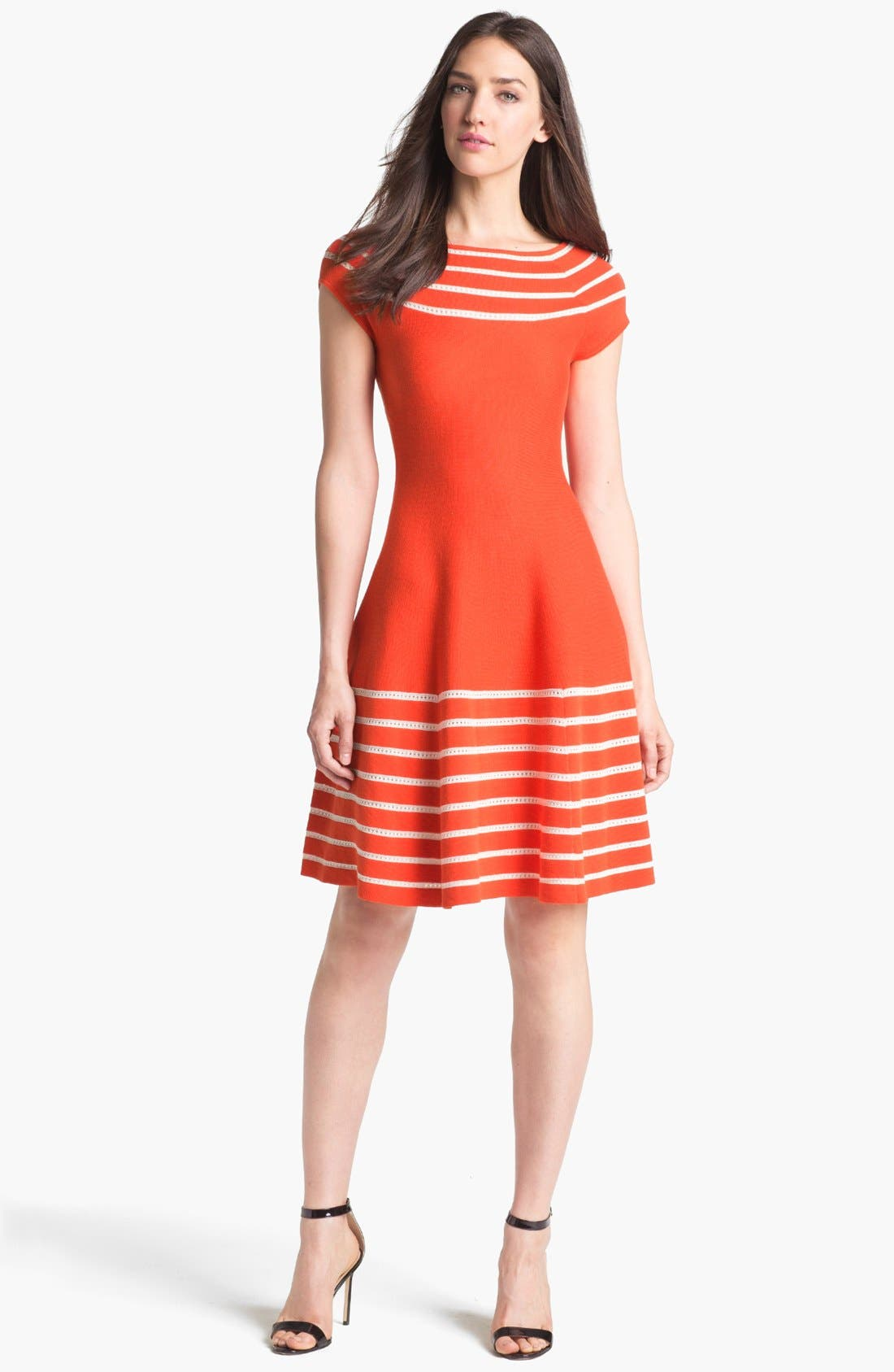 Alternate Image 1 Selected - kate spade new york 'amalia' cotton sweater dress